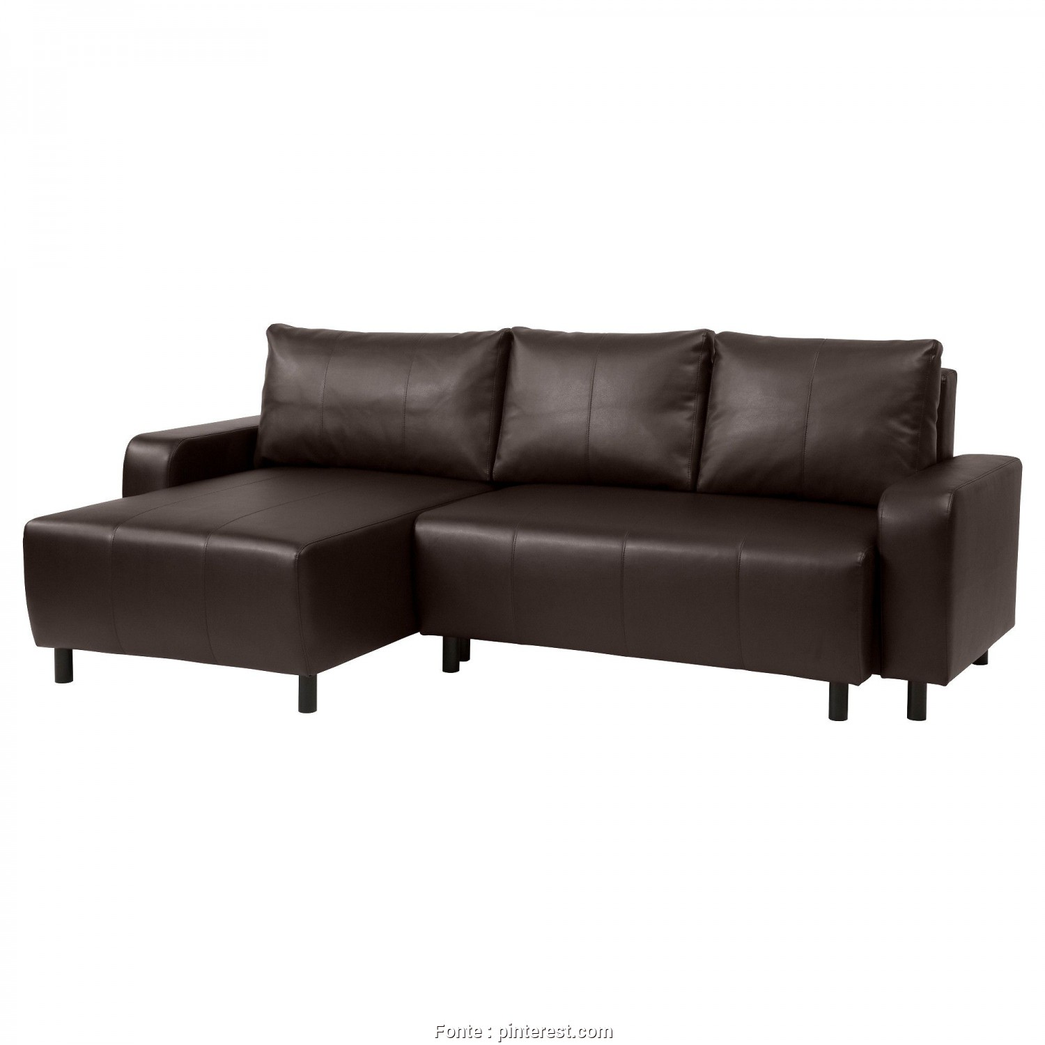 Amazon Copricuscini Divano Genius, Stupefacente IKEA, DJURSBO, Sleeper Sectional, 3-Seat, Kimstad Brown, ,, Can Place, Chaise Section To, Left Or Right Of, Sofa,, Switch Whenever, Like