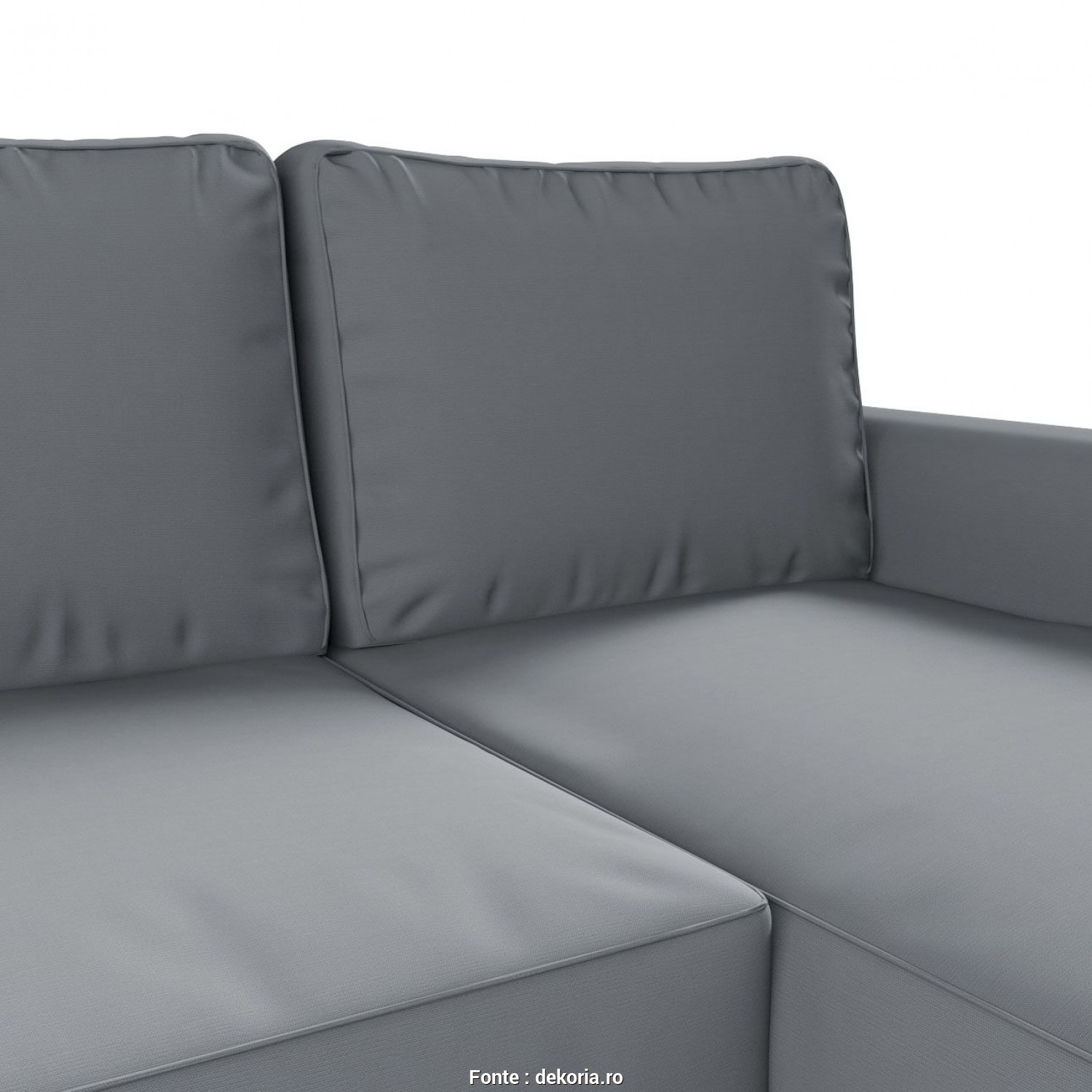 Backabro Ikea Cover, Esotico Backabro Sofa, With Chaise Longue Cover In Collection Panama Cotton, Fabric: 702
