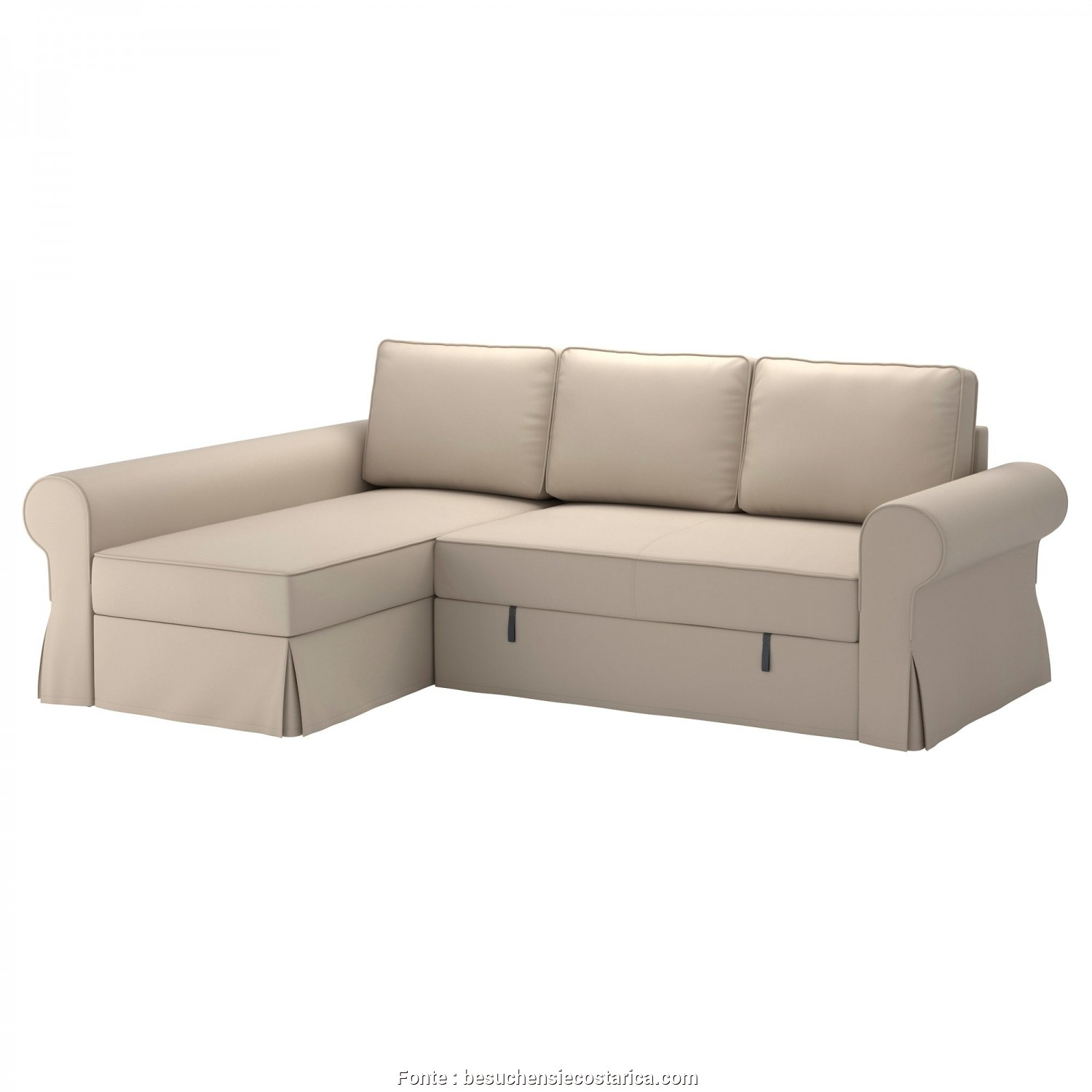 Backabro Ikea Review, Deale ... Ikea Sofabett Ehrfürchtige Fotografie Backabro Sofa, With Chaise Longue Ramna Beige Ikea