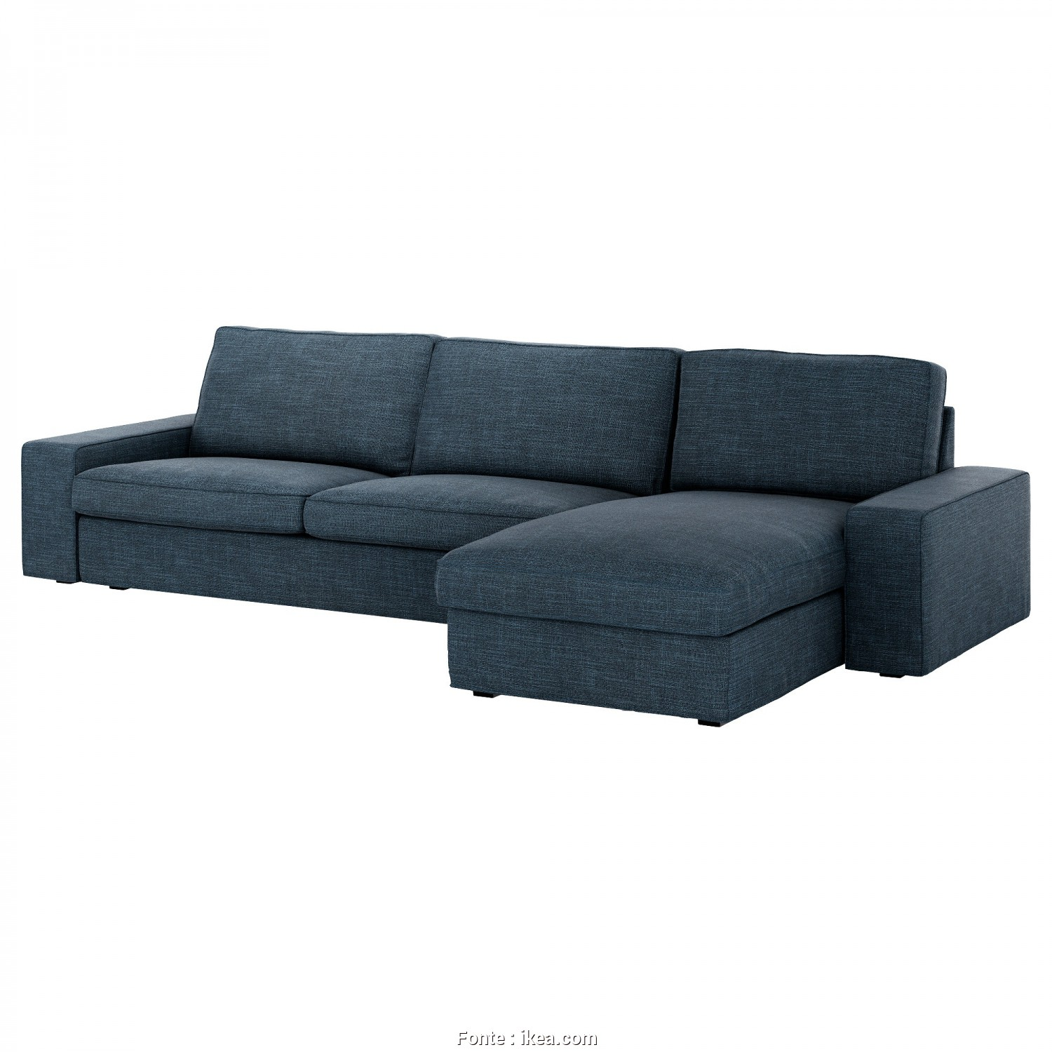 Backabro Sofa, With Chaise Longue £725 Ikea, A Buon Mercato IKEA KIVIK 4-Seat Sofa, Chaise Longue, Either Be Used Freestanding Or Added