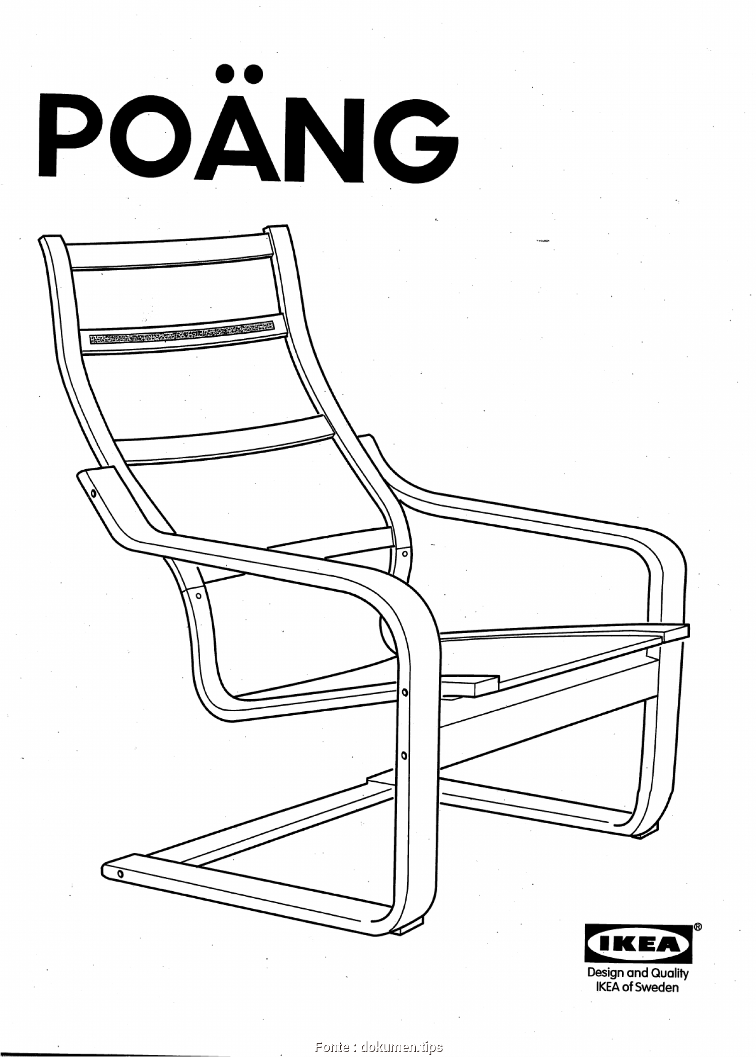 Beddinge Ikea Manual, Deale Ikea Poang Chair Assembly Instructions