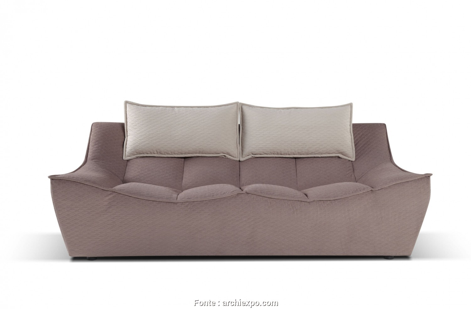 Calia, Hop 830, Divertente Contemporary Sofa / Fabric / 2-Person / Reclining., HOP Caliaitalia