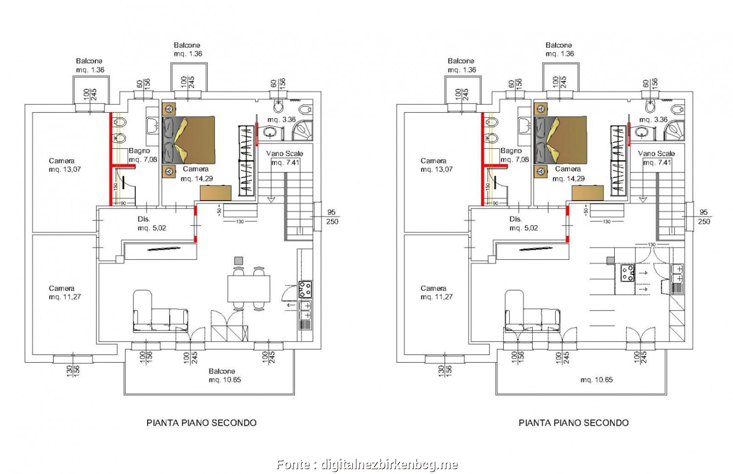Grande 4 Camere Letto Dwg - Keever For Congress