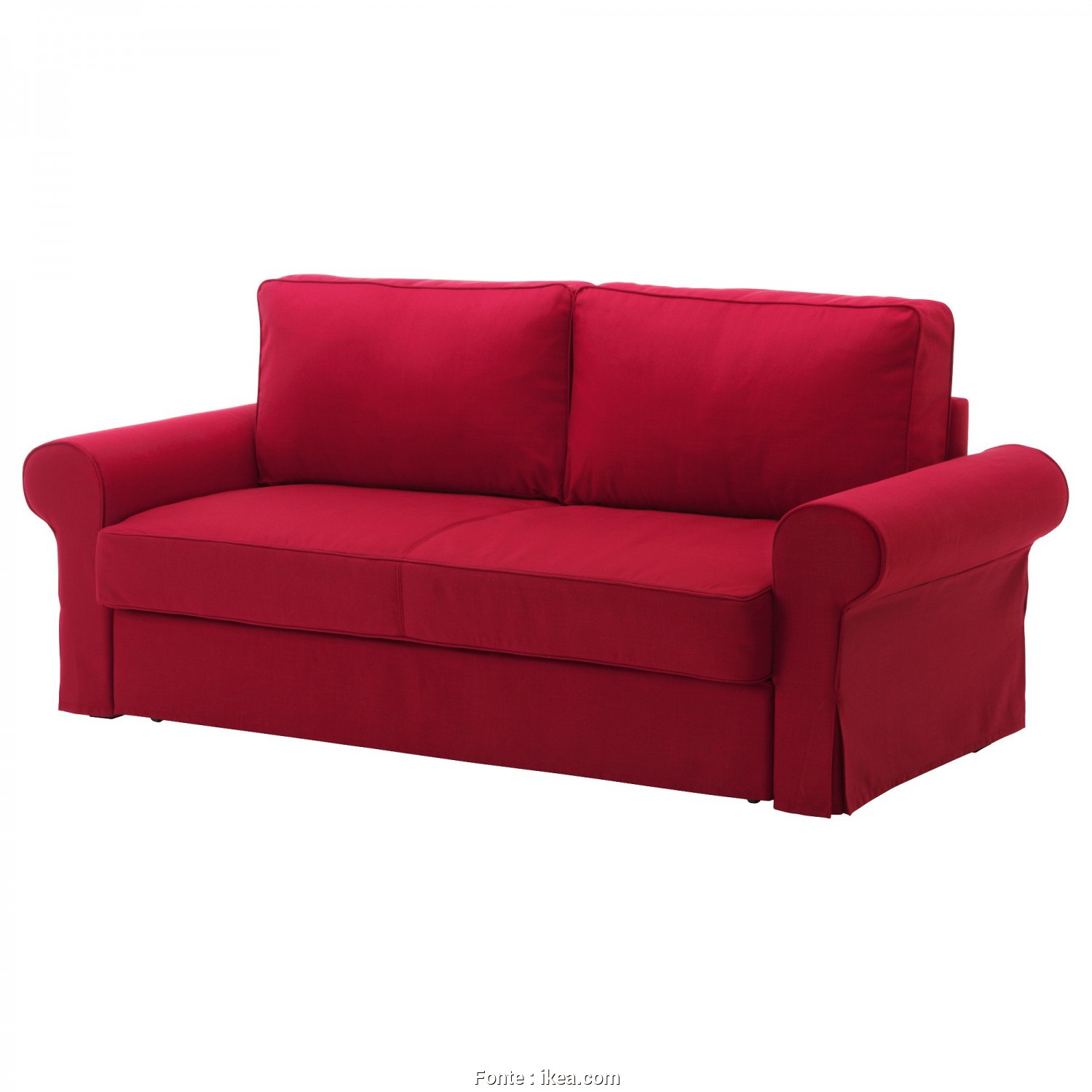 Canape Ikea Backabro 3 Places, Rustico BACKABRO Convertible 3 Places Nordvalla Rouge