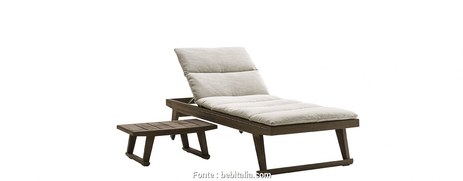 Chaise Longue Bloco Dwg, Minimalista Chaise Longue, -B&B Italia Outdoor, Design By Antonio Citterio