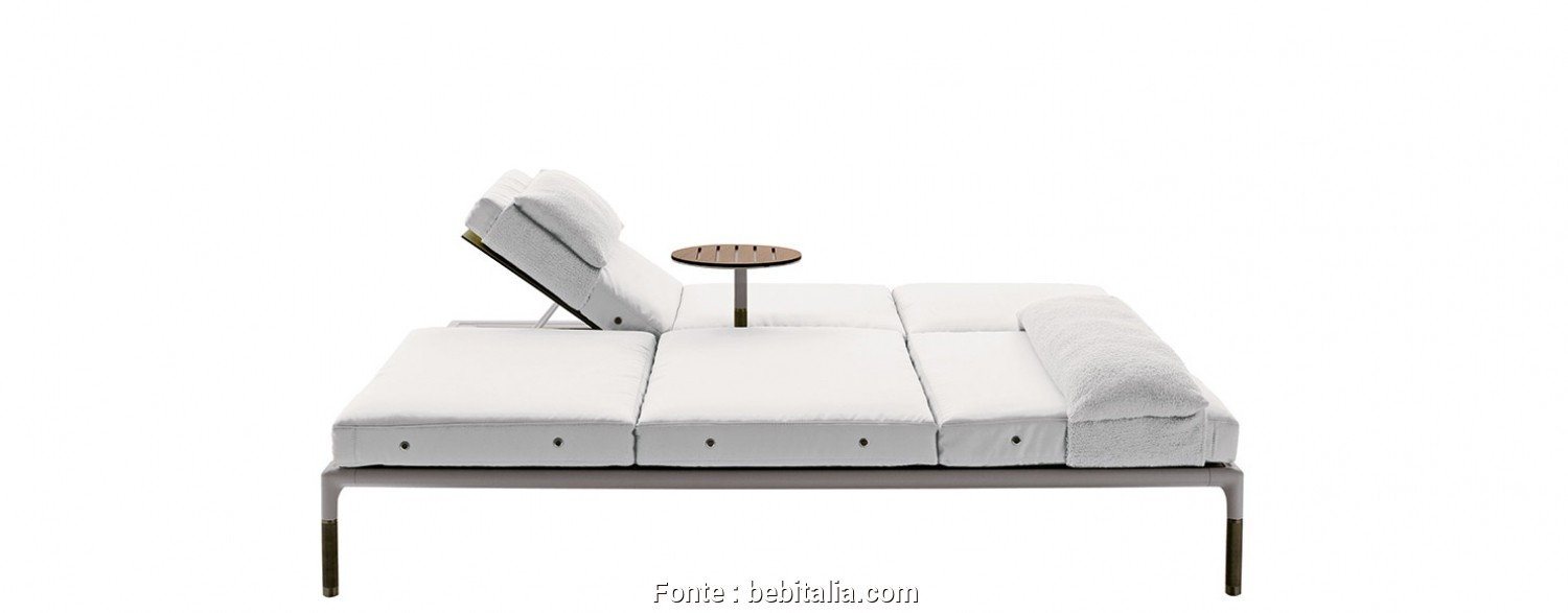 Chaise Longue Bloco Dwg, Semplice Chaise Longue Springtime -B&B Italia Outdoor, Design By Jean