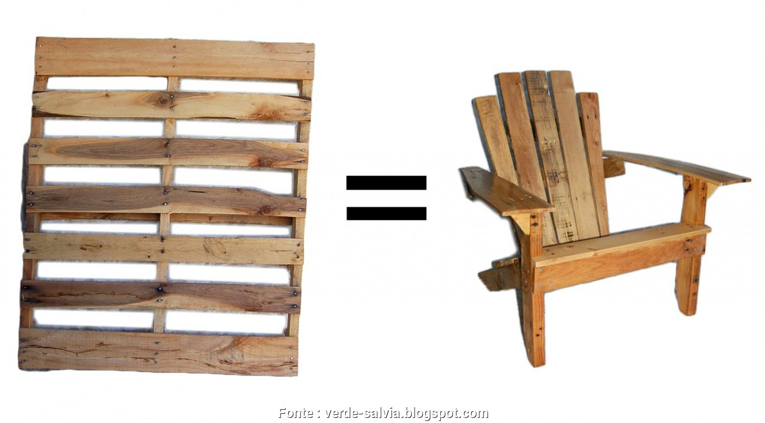 "Come Fare Sedie, Bancali, Ideale VerdeSalvia"": I Love Pallets"