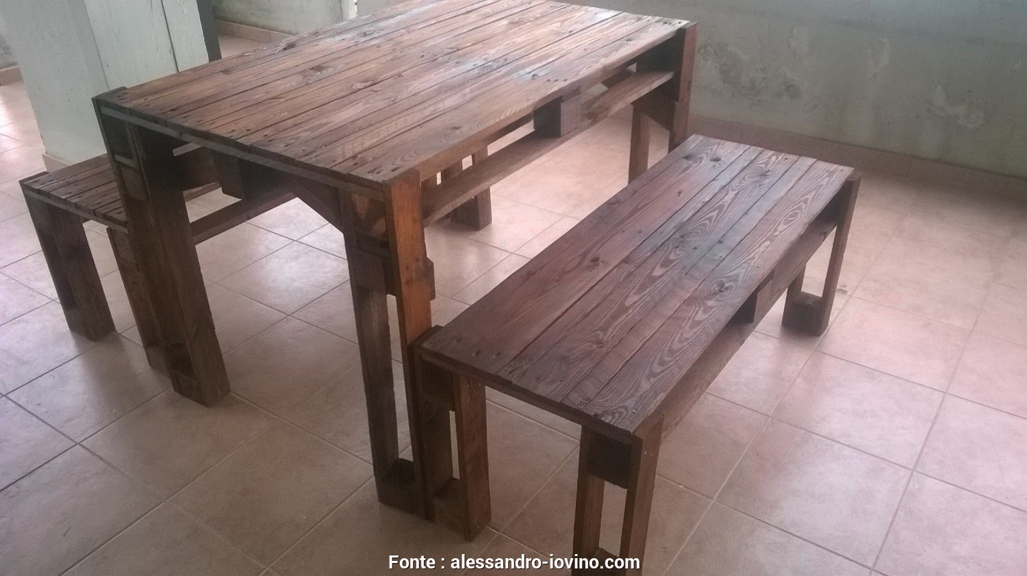 Costruire Un Tavolo, I Pallet, Costoso ... Meraviglioso Tavoli, Pallet COSTRUIRE, PANCHINA, I PALLETS Bench Made From Pallets YouTube Maxresdefault