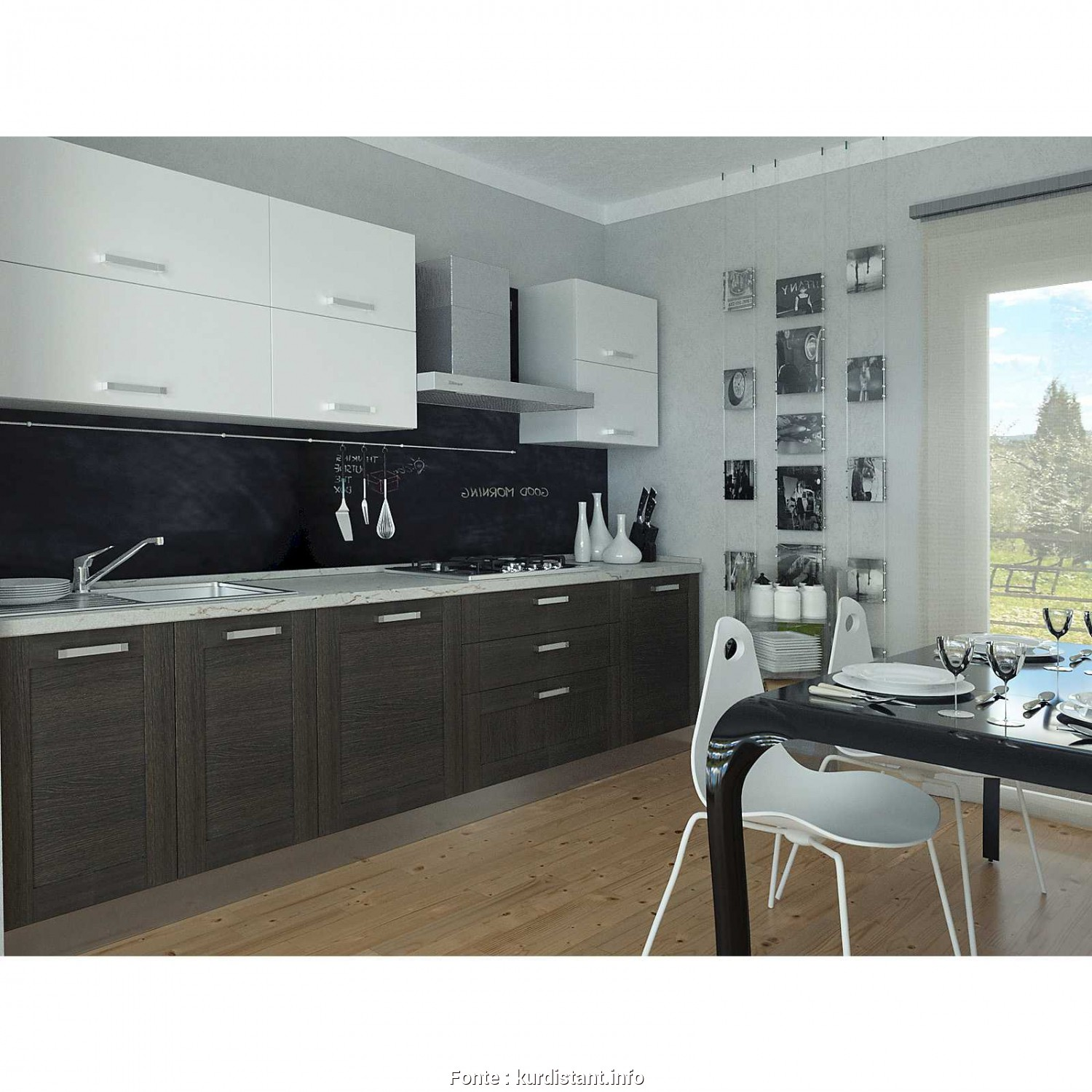Awesome Progetto Cucina 3d Photos - House Interior - kurdistant.info