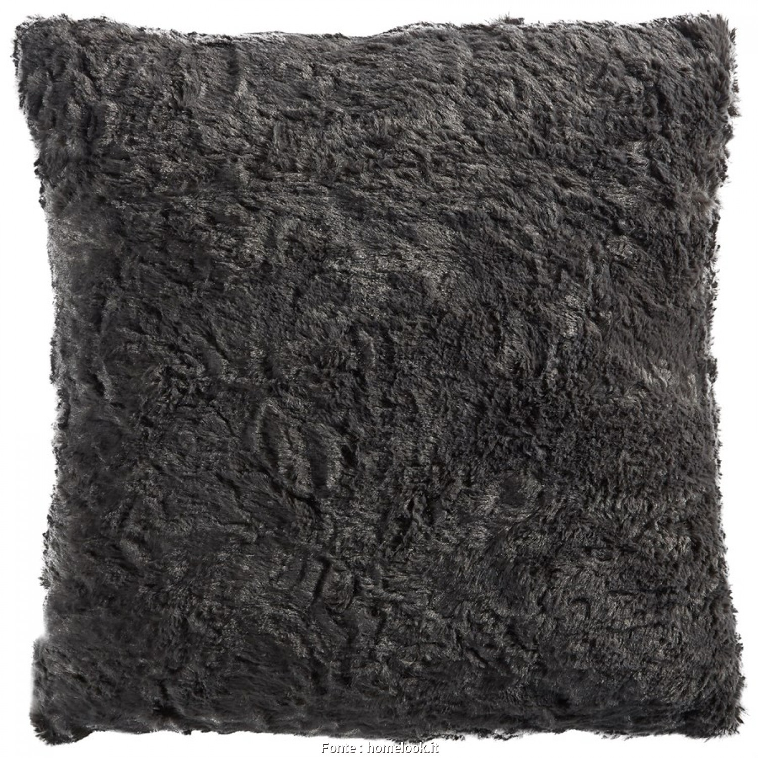 Cuscini Decorativi Jysk, Completare Cuscino Decorativo Fluffy (50X50, Antracite), Cuscini Decorativi