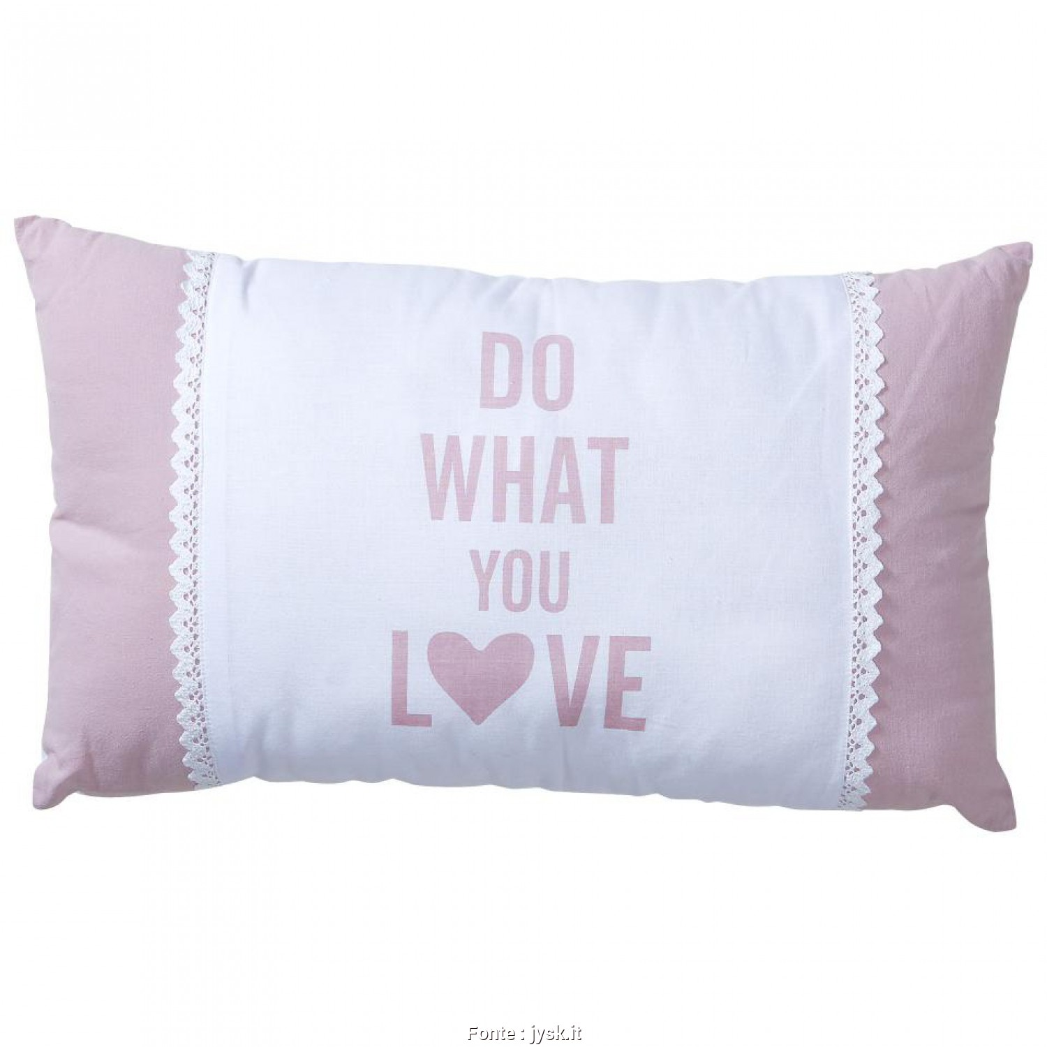 Cuscini Decorativi Jysk, Freddo Cuscino Decorativo Romantic (30X50, Do What, Love)