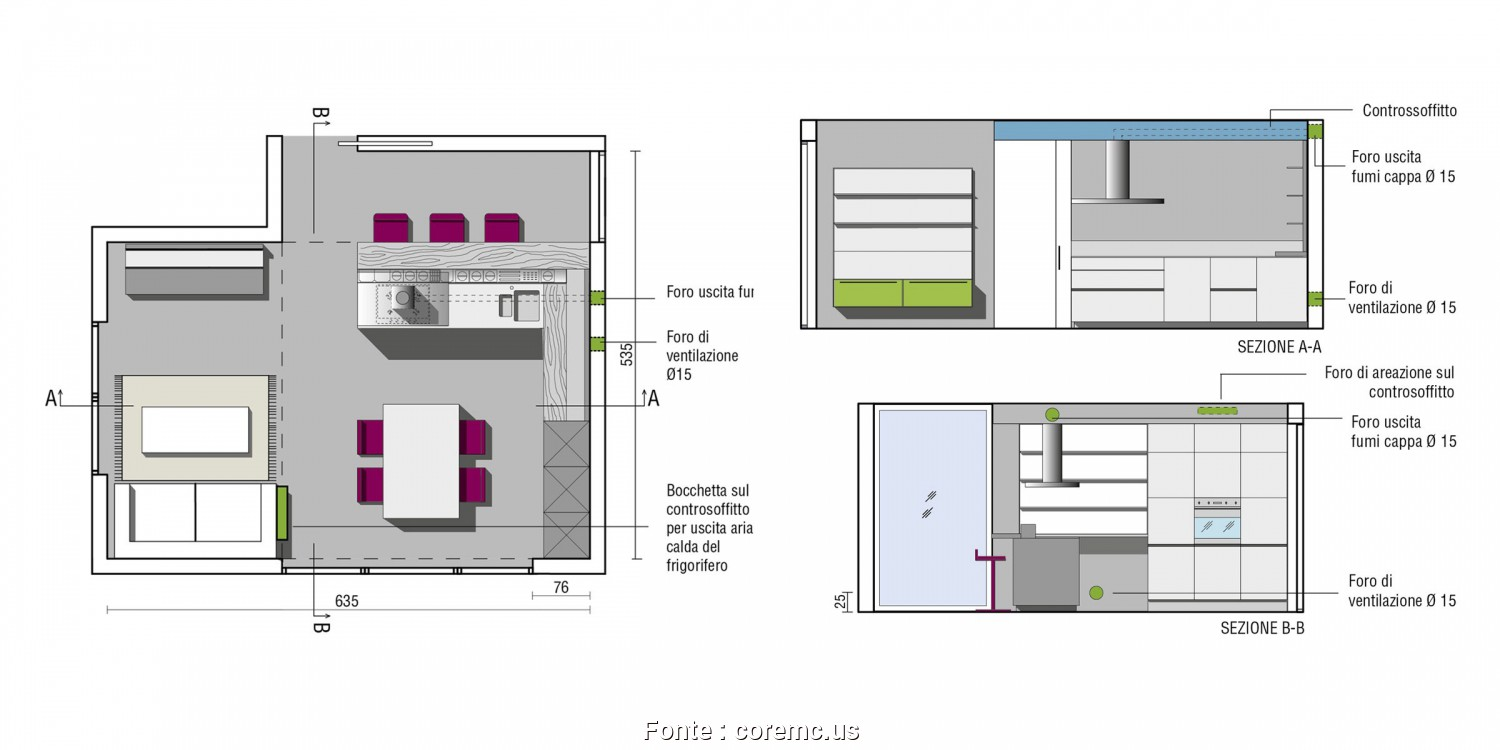 Stupefacente 4 Dimensioni Isola Cucina Dwg - Keever For Congress