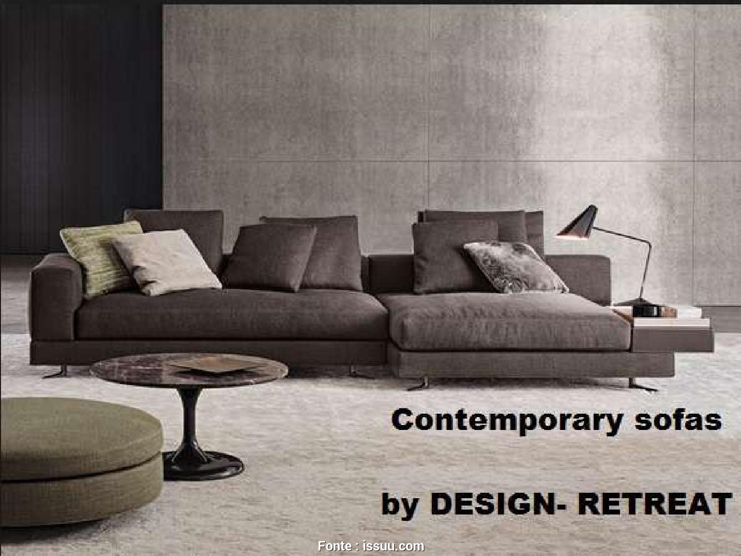 Divani Busnelli Mike, Divertente Systematic Break Down Of Contemporary Sofas