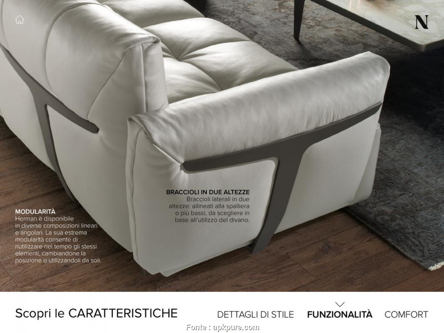 Divani E Divani By Natuzzi 2017, Originale Natuzzi Italia Catalogo 2017, Android -, Download