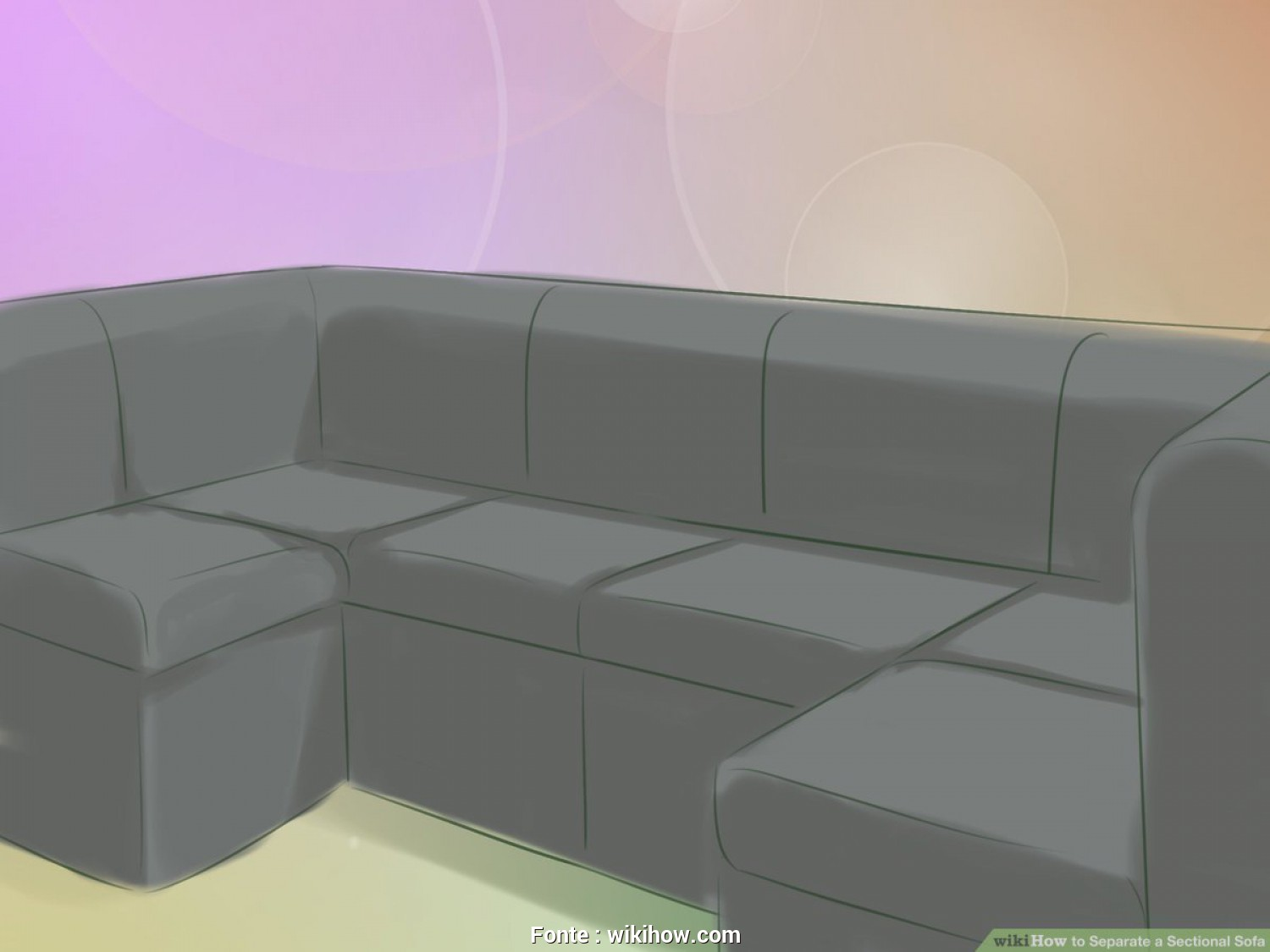 Divani E Divani By Natuzzi Wikipedia, Divertente How To Separate A Sectional Sofa: 10 Steps (With Pictures)