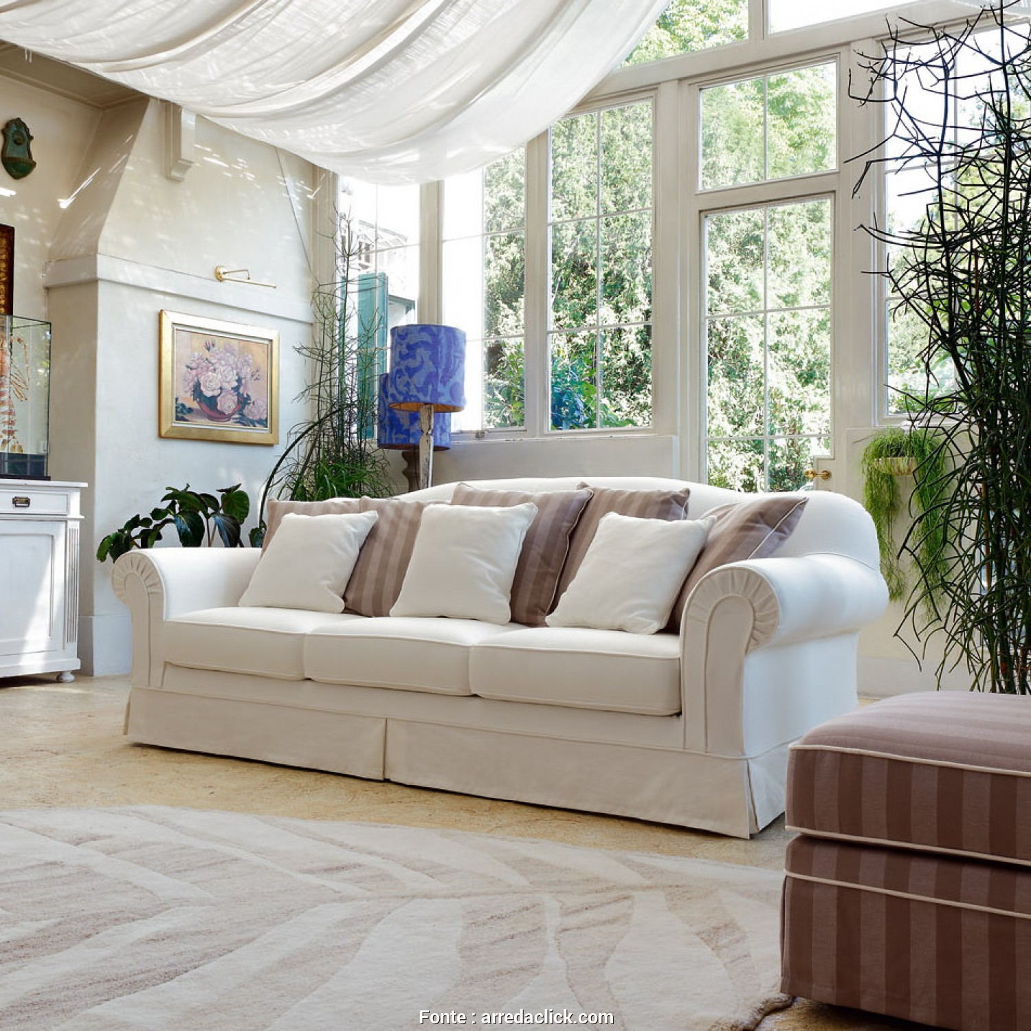 Bellissimo 4 Divani Letto Country Chic - Keever For Congress