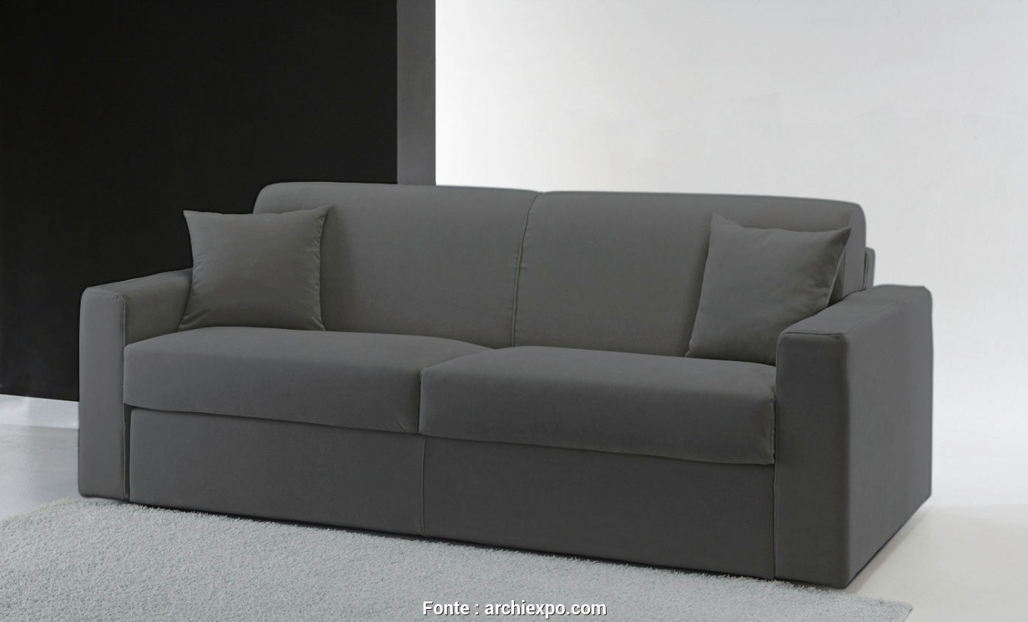 Divani Santambrogio Lissone, Esclusivo Sofa, / Contemporary / Leather / 2-Person, SONDRIO : ROMA