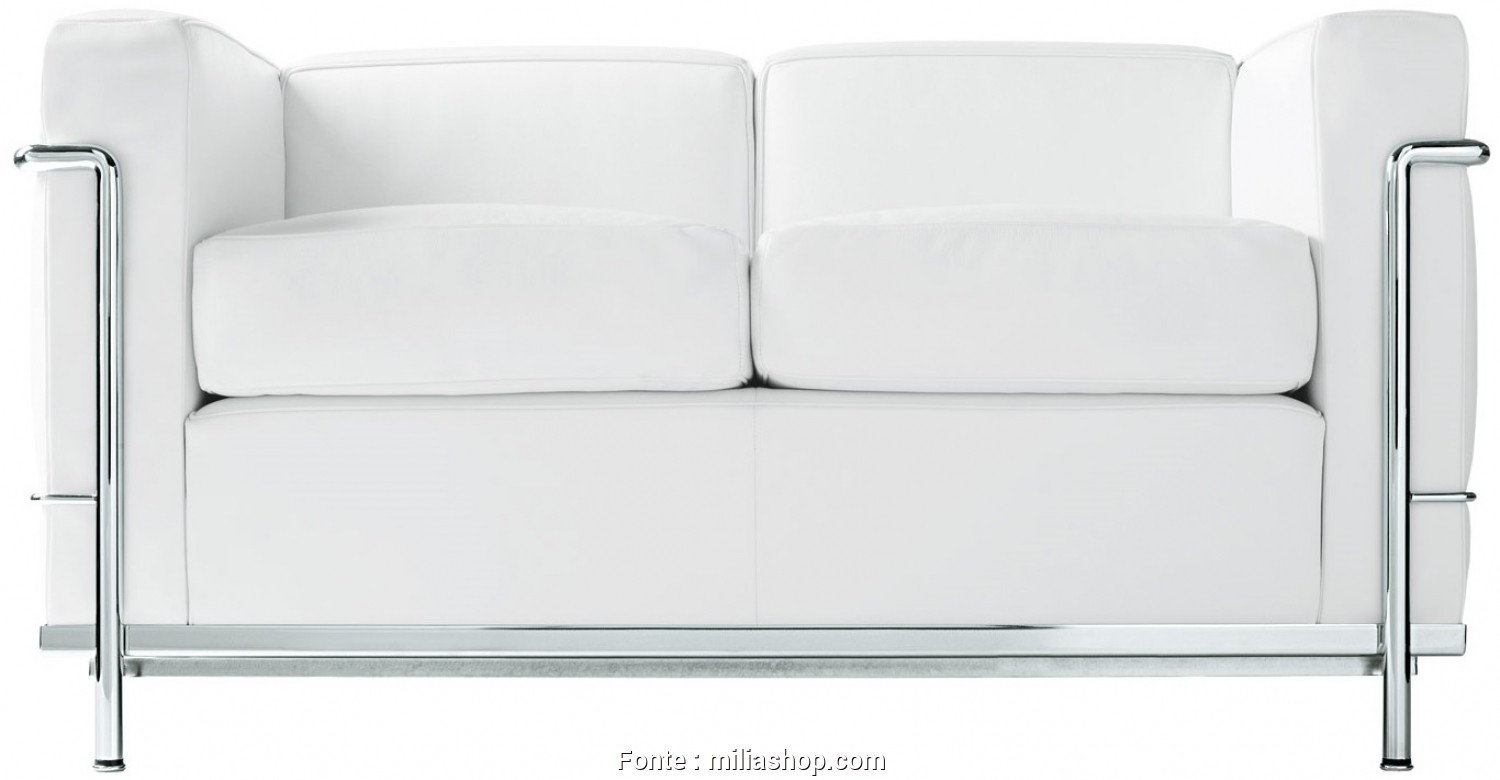 Divano 2 Posti Cassina, Grande LC2,, Seater Sofa Cassina, Milia Shop