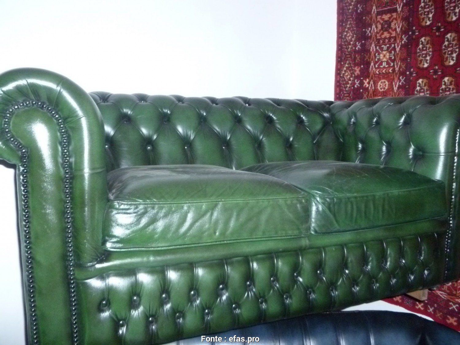 Divano Chester Verde Acido, Loveable Divano Chesterfield Verde Posti: Divano Chesterfield 2 Posti Idee