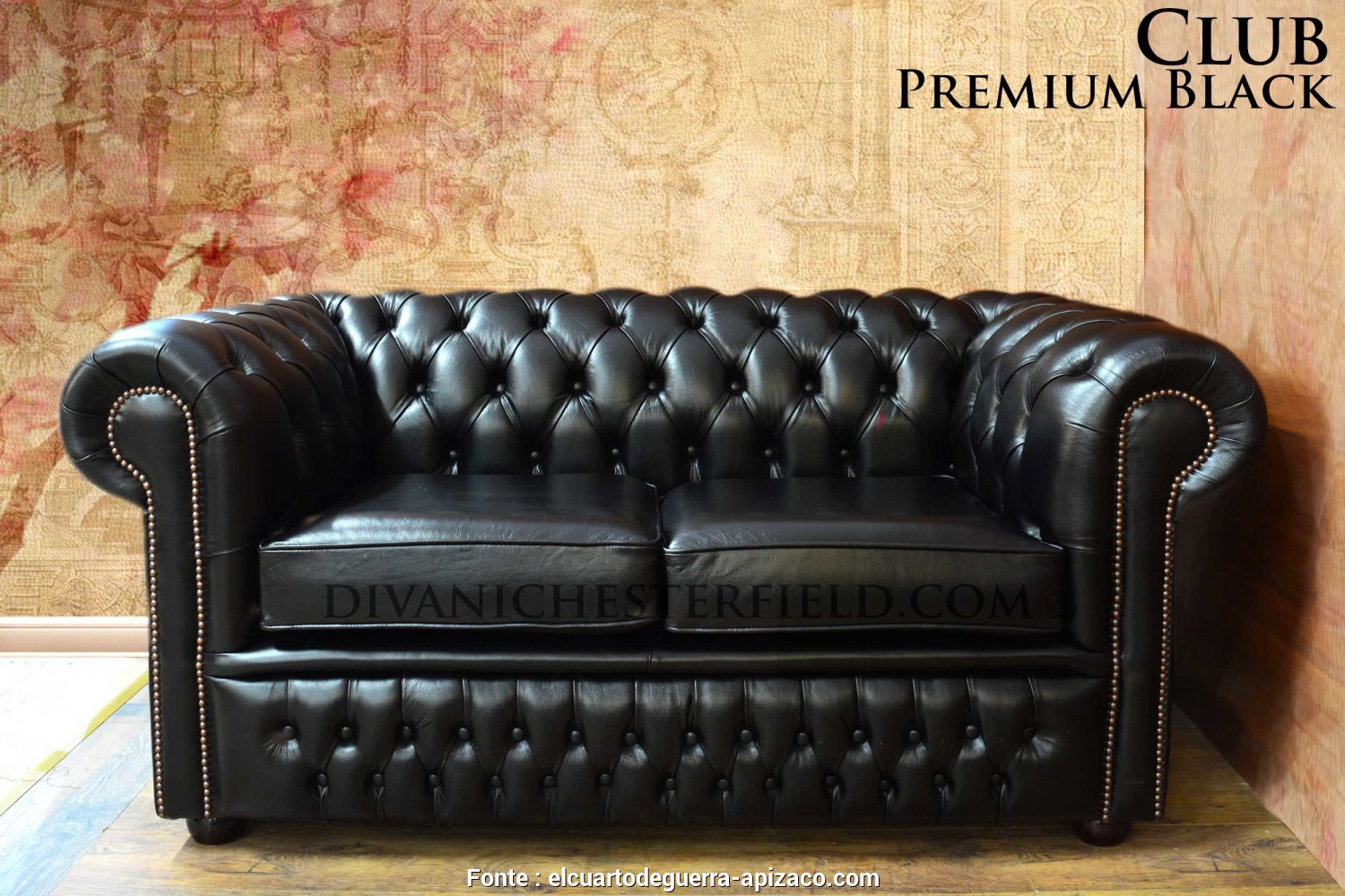 Divano Chesterfield Frau, Favoloso Divano Chesterfield Club Nuovo Originale Inglese