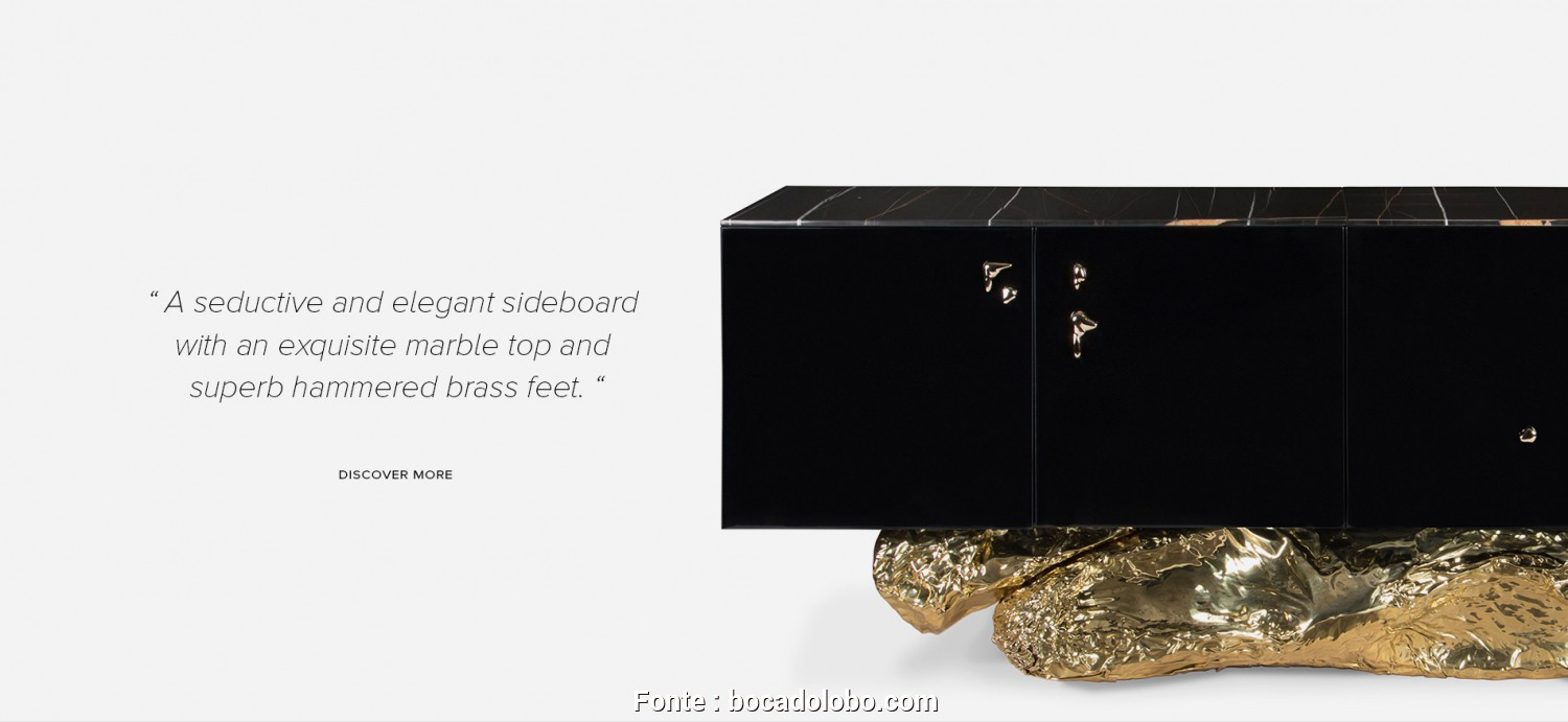 Divano Chesterfield Maison Du Monde Opinioni, Semplice «A Seductive, Elegant Sideboard With An Exquisite Marble, And Superb Hammered Brass Details»