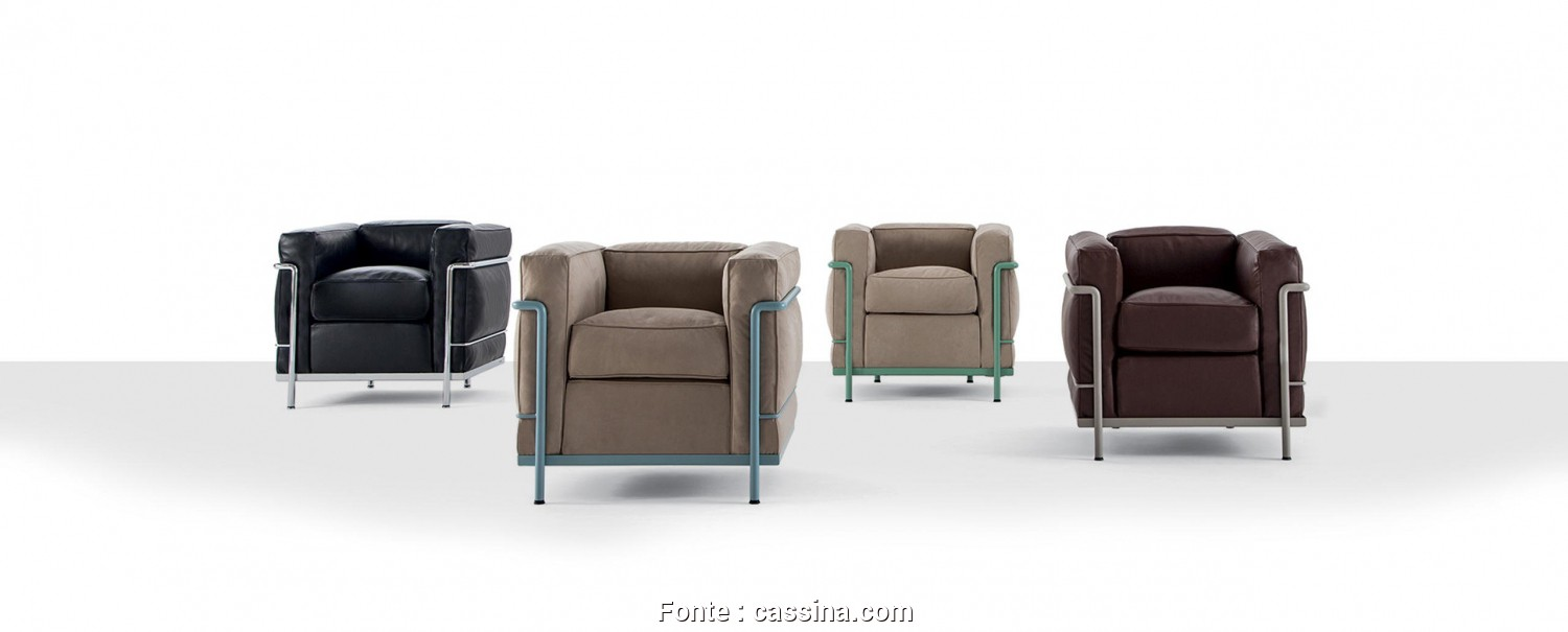 Divano, Dwg, Completare ... Armchairs -, POLTRONA, Designed By, Le Corbusier, Pierre Jeanneret, Charlotte Perriand