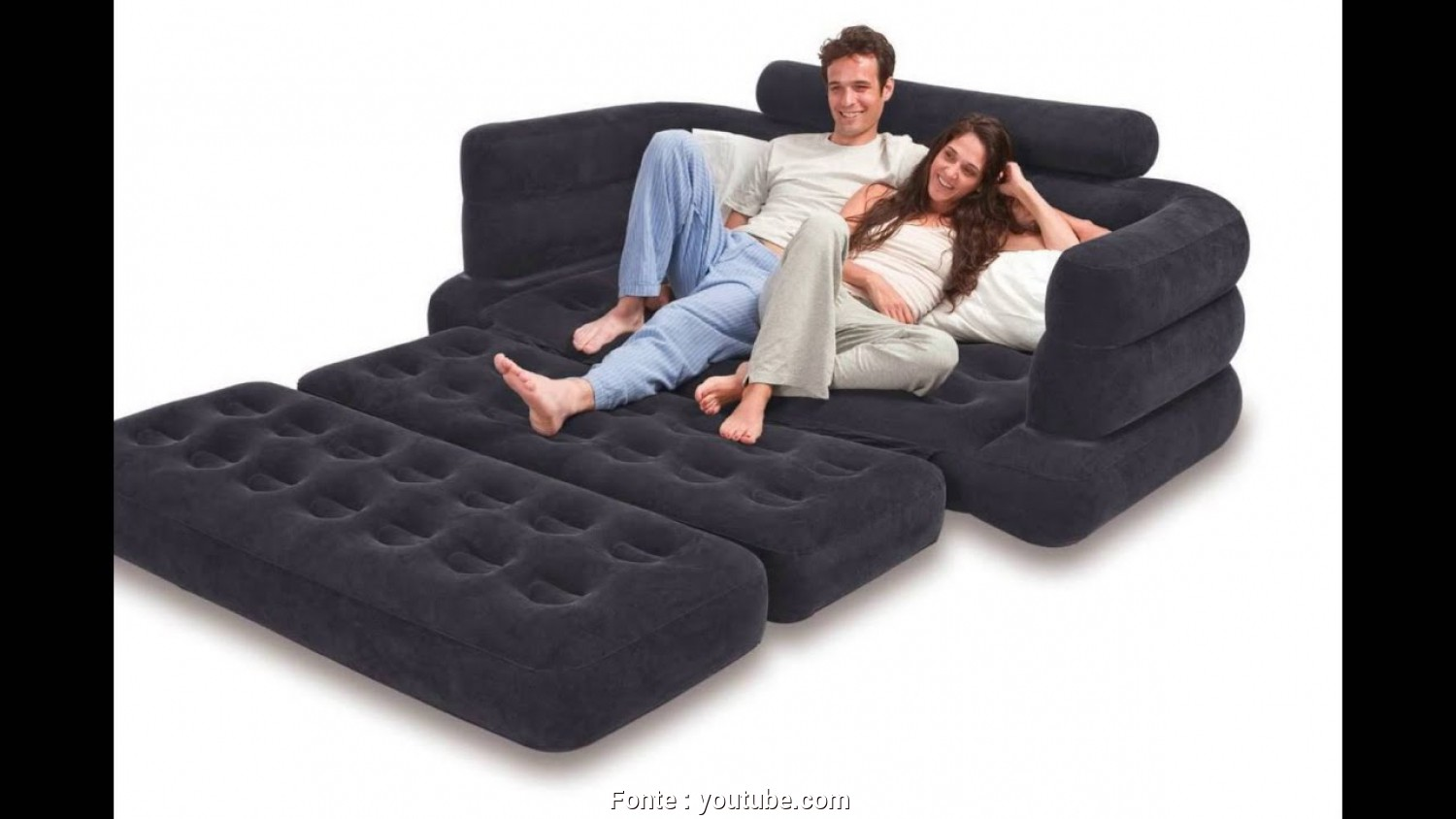 "Divano Gonfiabile Sofa Bed, Esclusivo Intex Pull-Out Sofa Inflatable Bed,, X, X 28"", Queen"
