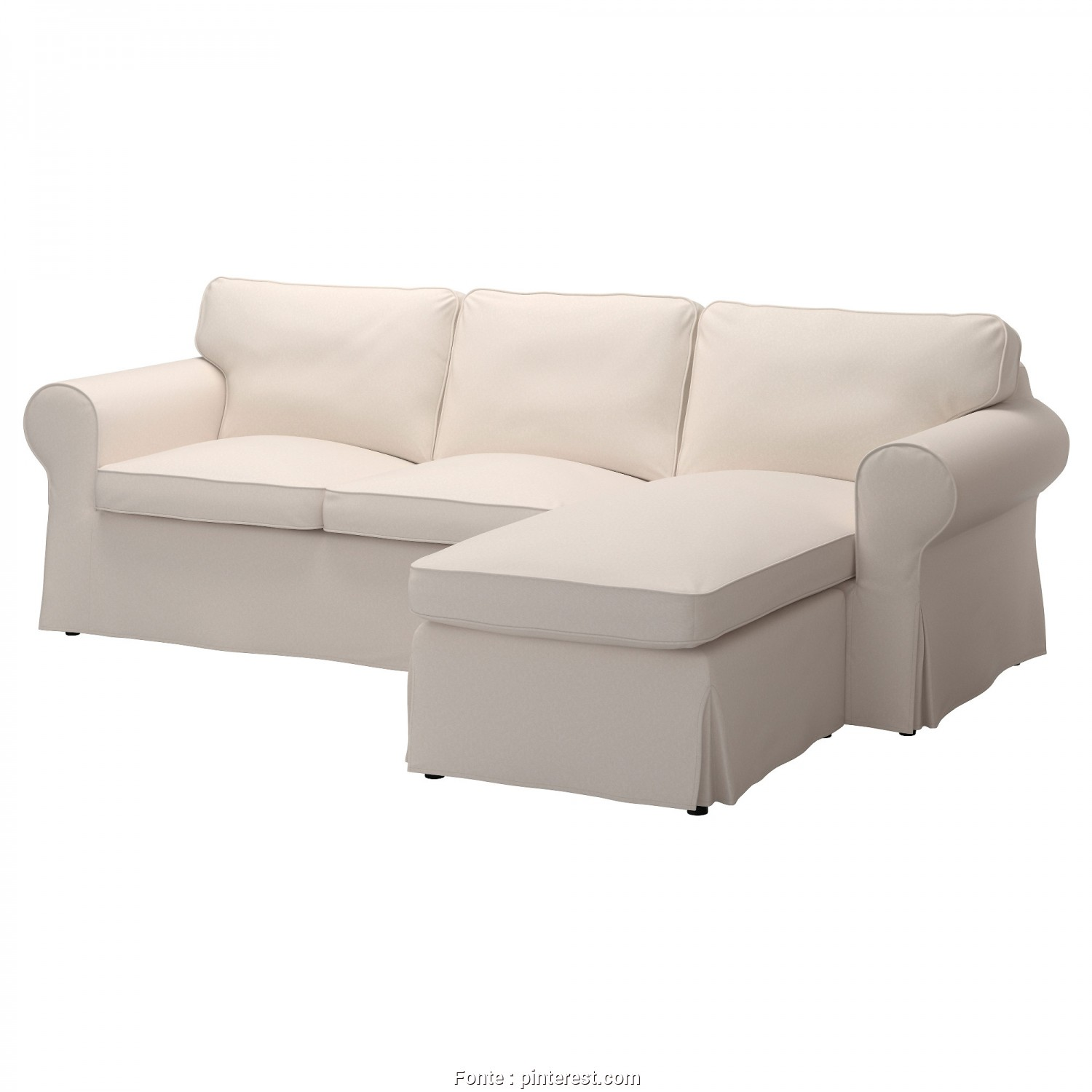 Divano Ikea Ektorp, Chaise Longue, Semplice EKTORP Sofa, Lofallet With Chaise, Lofallet Beige, Home Decor
