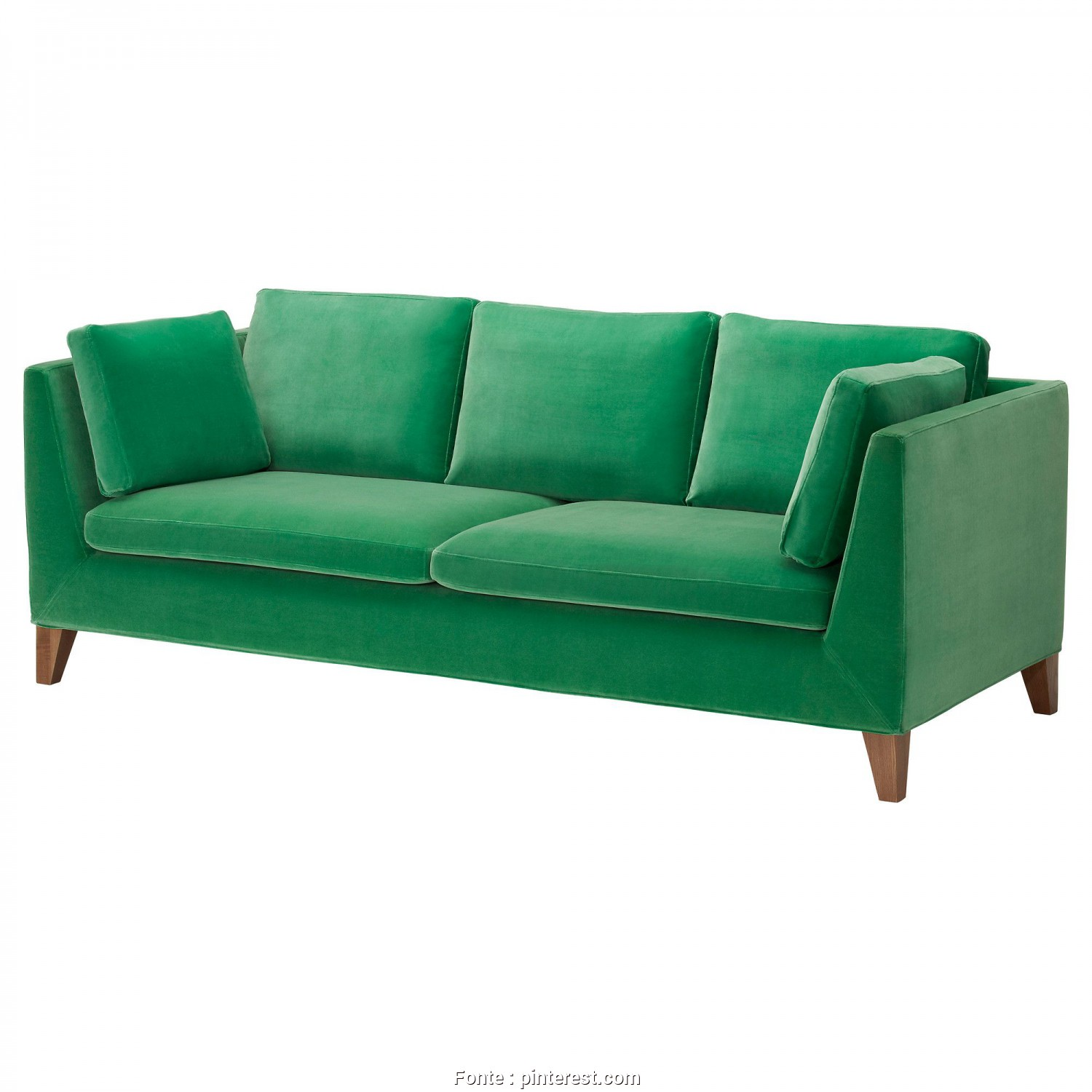 Divano Ikea Stockholm Verde, Costoso Not Gonna Lie. Pretty In Love With This, @IKEA Sofa! // STOCKHOLM In Sandbacka Green