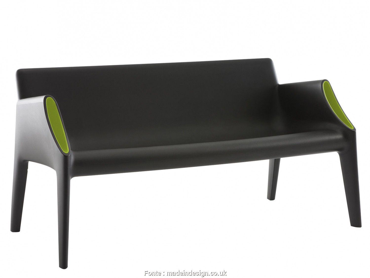 Divano Kartell Magic Hole, Semplice ... Outdoor, Sofas, Magic Hole Straight Sofa, Indoor / Outdoor By Kartell, Black