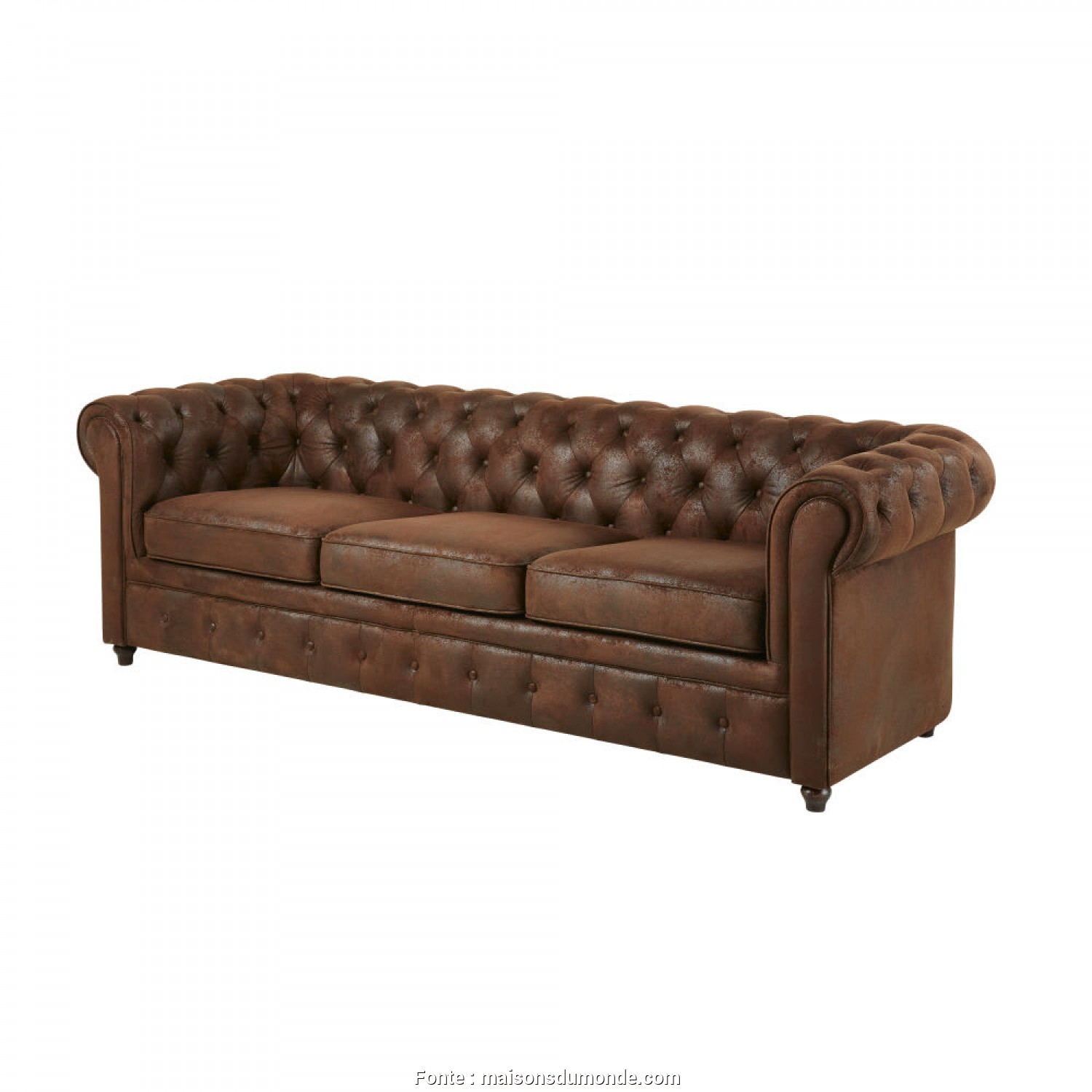 Loveable 5 Divano Letto Chesterfield 3 Posti