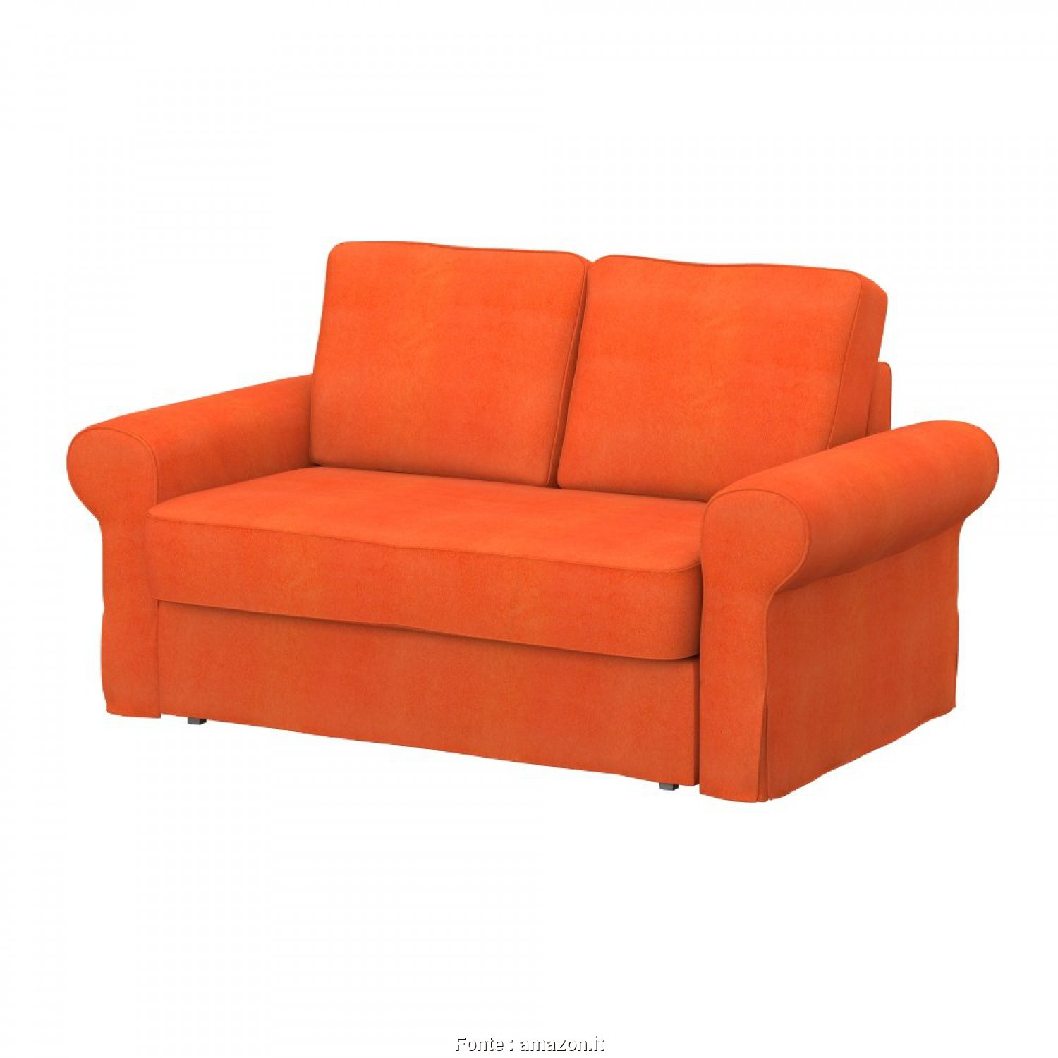 Divano Letto Ikea Backabro 2 Posti, Classy Soferia, IKEA BACKABRO Fodera, Divano Letto, Posti, Soft Orange: Amazon.It: Casa E Cucina