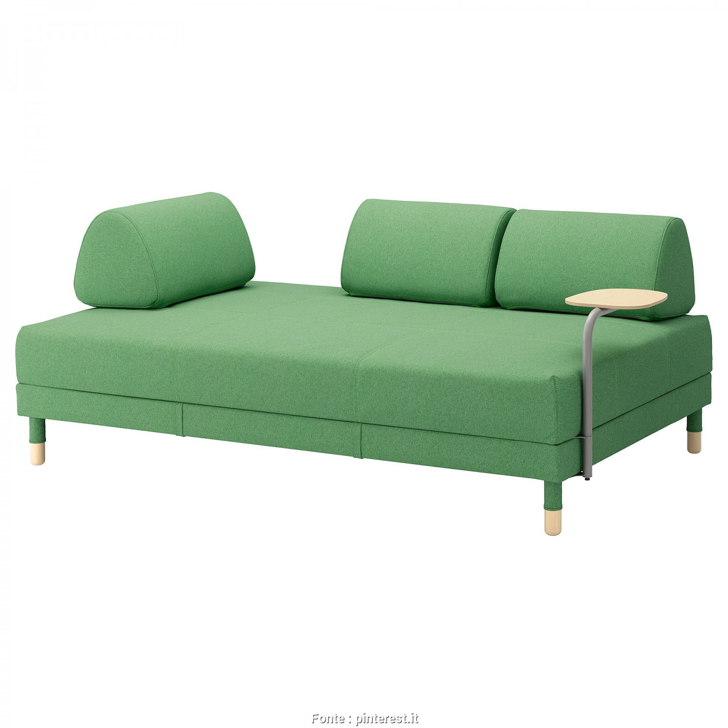 Divano Letto Ikea Flottebo, Maestoso IKEA, FLOTTEBO Sleeper Sofa With Side Table Lysed Green In 2019, Products, Pinterest, Divano Letto, Divano, Ikea