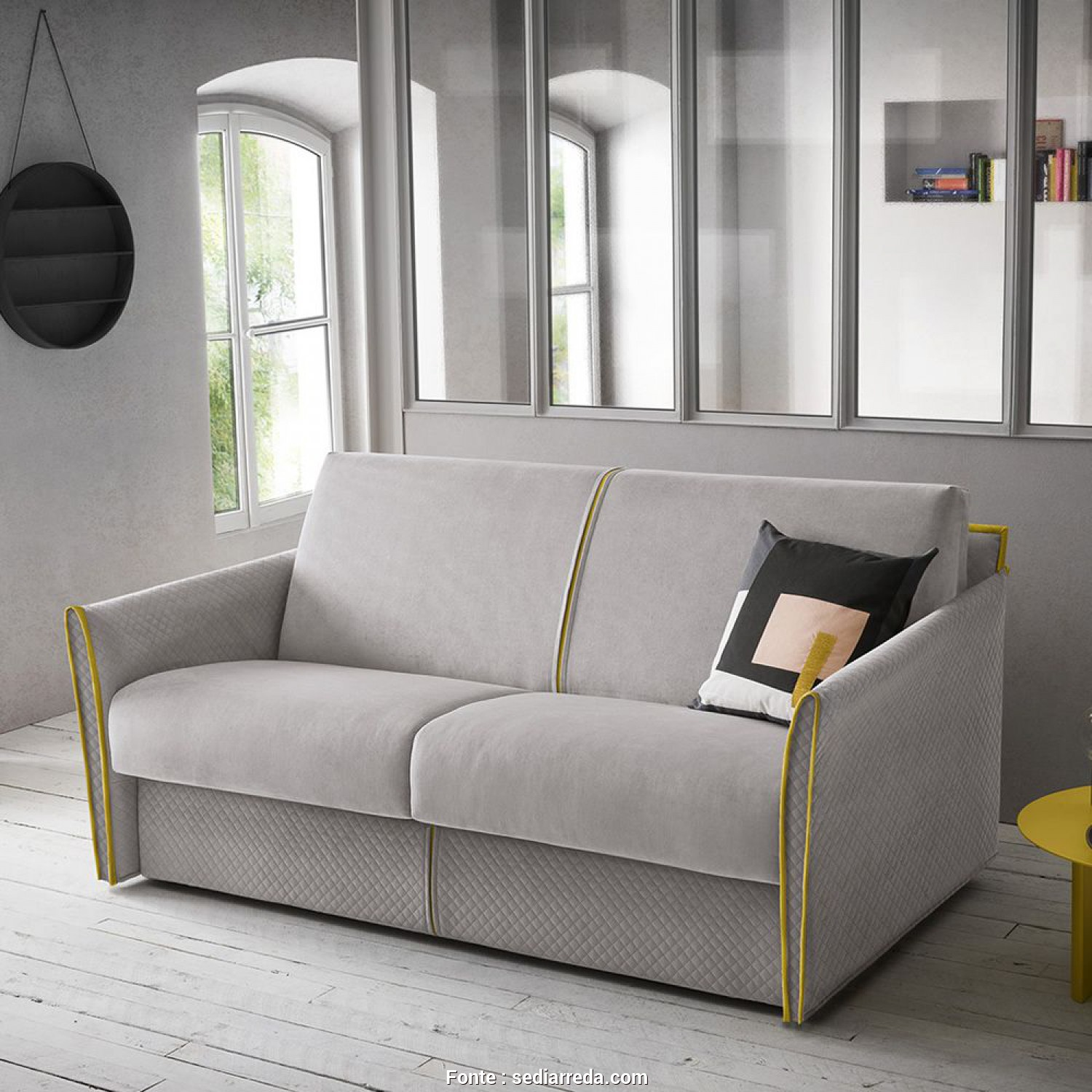 Divano Letto Jolly, Maestoso Jolly, Seater Sofa Bed, Totally Removable Covering, Available