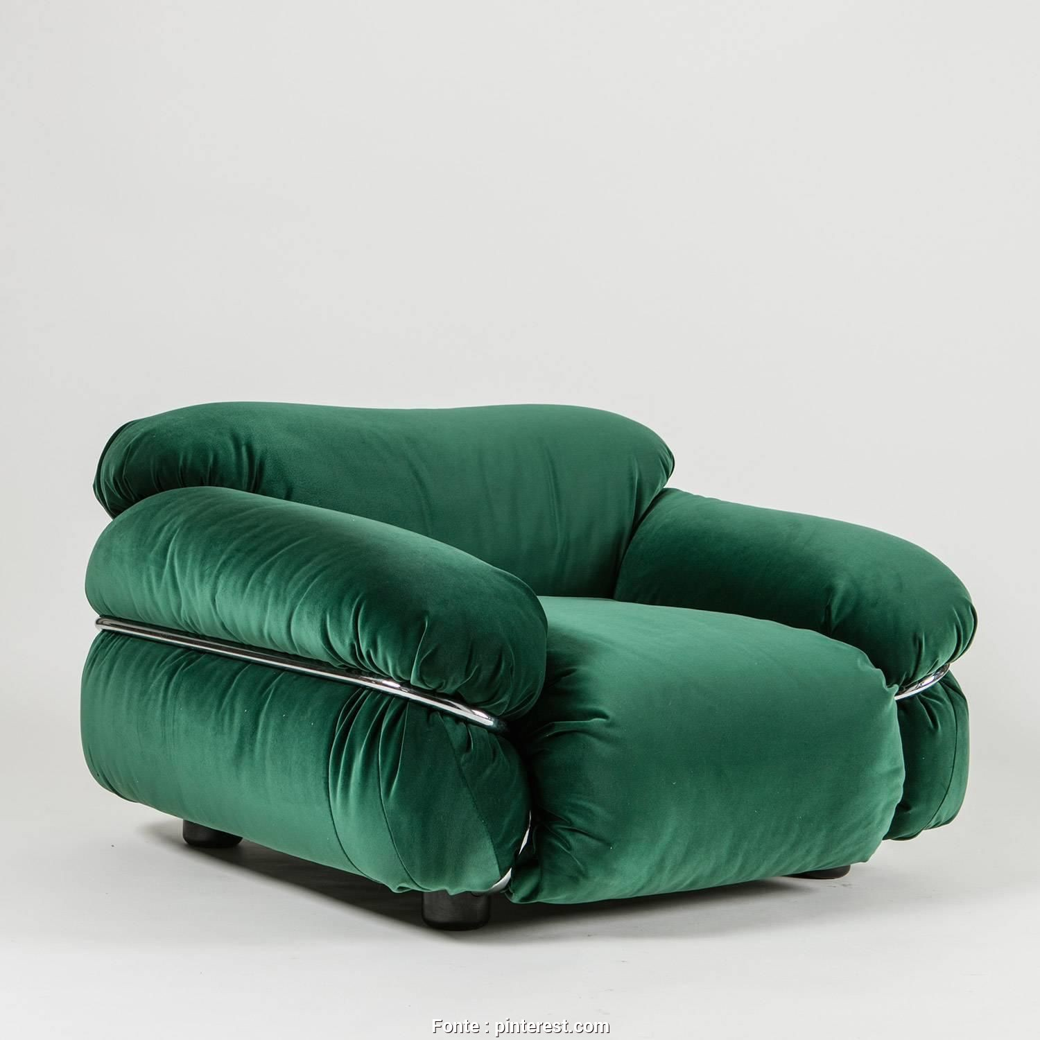 "Divano Sesann Cassina, Bella Sesann"" Armchair By Gianfranco Frattini, Cassina, Furniture"
