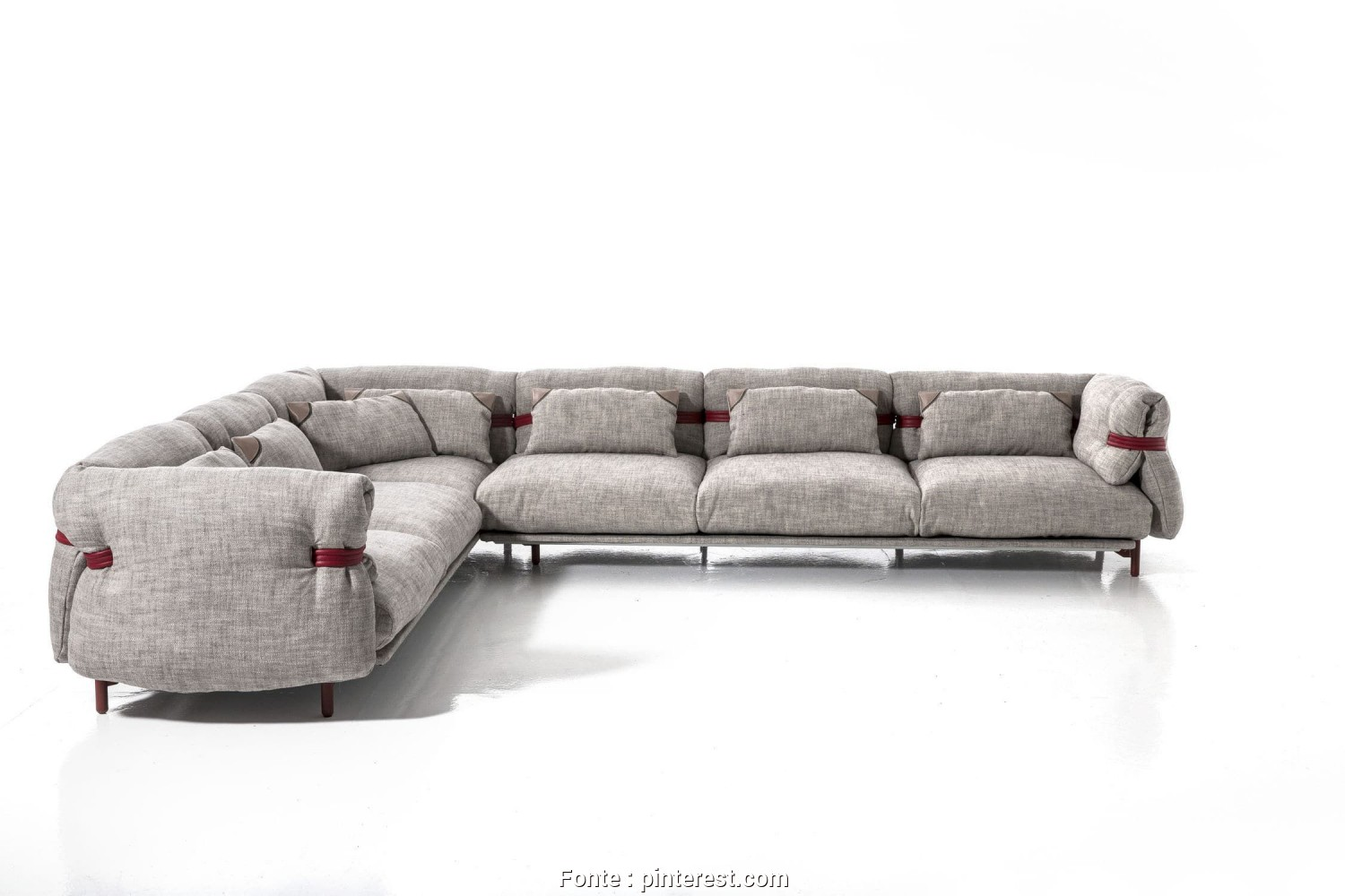 Divano Sofa Moroso, Bellissimo Modular Sofa / Contemporary / Fabric / By Patricia Urquiola, BELT, MOROSO
