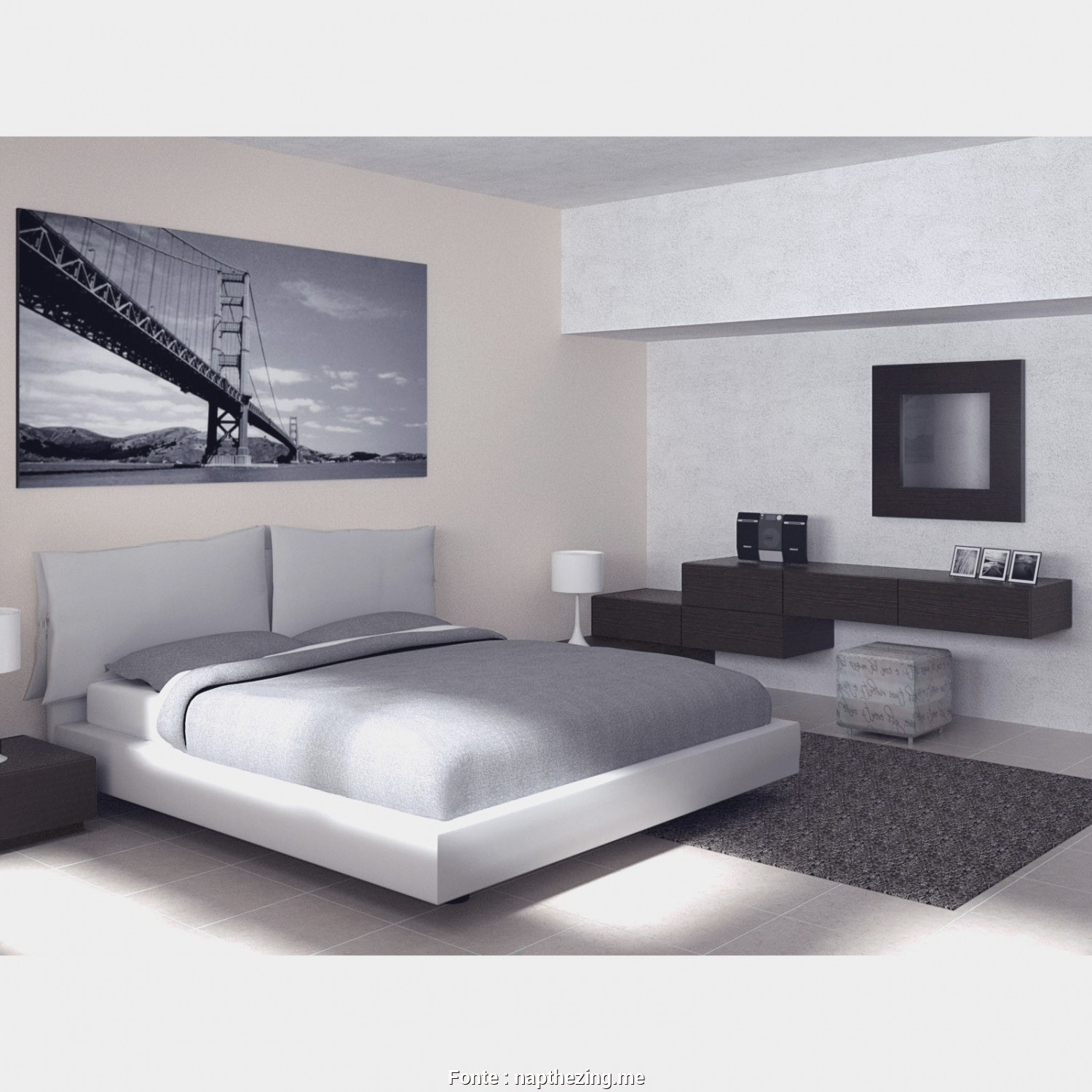Divano, Tv Dwg, Bello Full Size Of Camera Da Letto, Camera Da Letto, Tv Habitaciones Decoradas, Colores