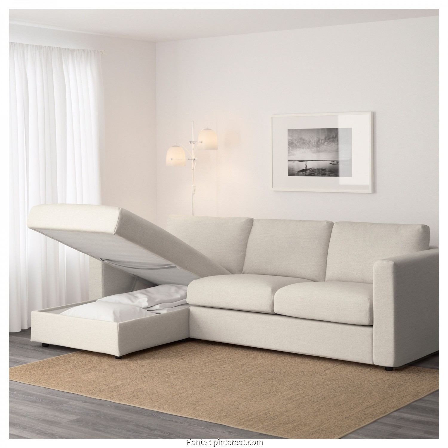Divano Vimle 4 Posti Ikea, Esotico IKEA, VIMLE Sofa With Chaise, Gunnared Beige, Products In 2019