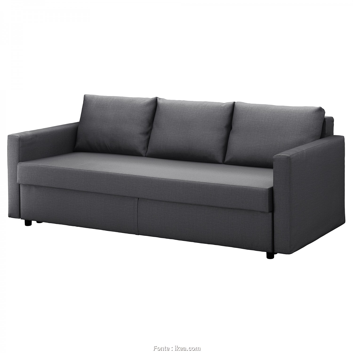 Futon Ikea Catalogo, Bella IKEA FRIHETEN Three-Seat Sofa-Bed Readily Converts Into A Bed