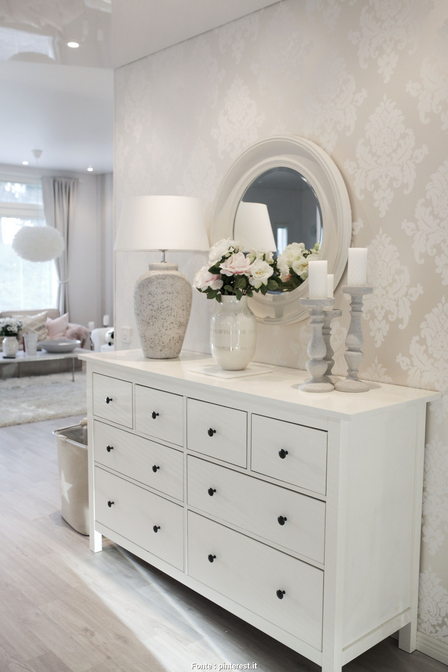 Hemnes Letto, Esotico This Hallway Looks Great. Love, Use Of An IKEA Hemnes Dresser
