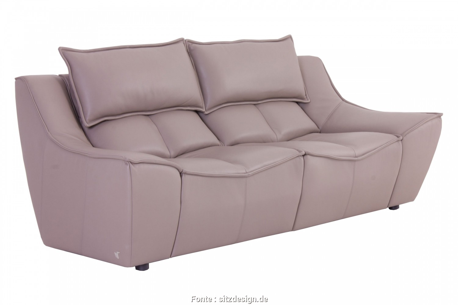 Hip, Sofa Calia Italia, Deale Calia Italia Sofa, HOP In Leder Suave Taupe