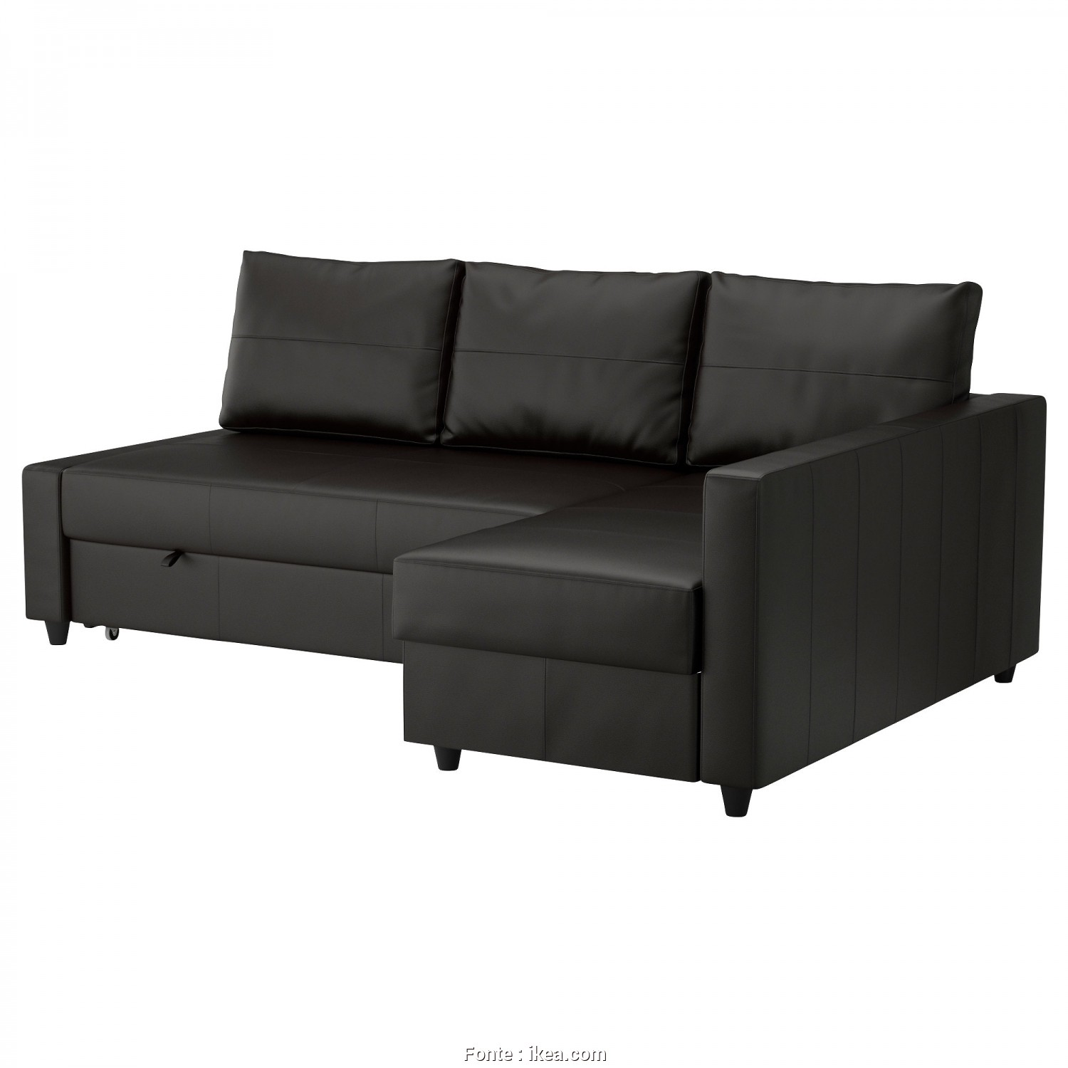 How Do, Open An Ikea Futon, Deale FRIHETEN Sleeper Sectional,3 Seat W/Storage, Skiftebo Dark Orange, IKEA