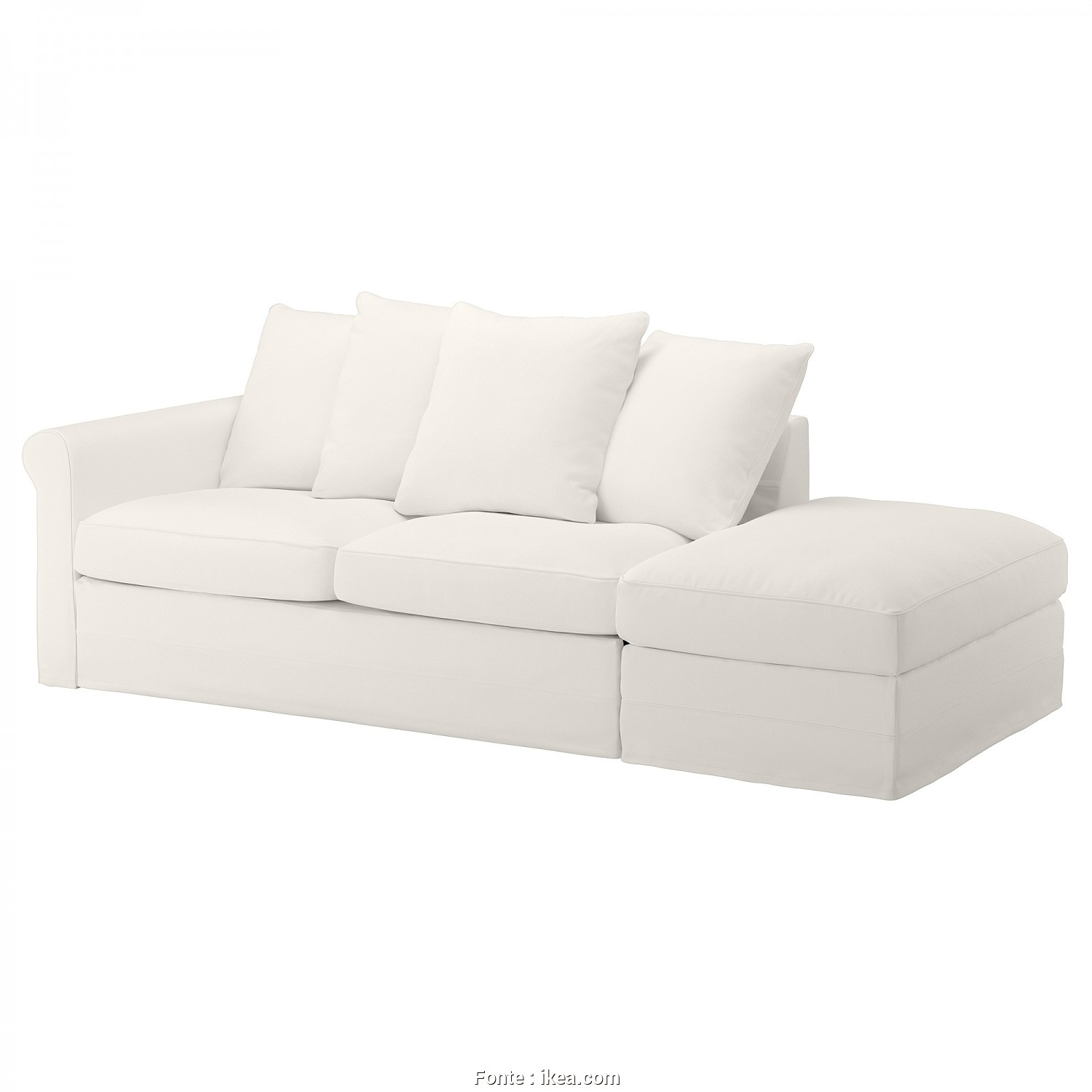 How Do, Open An Ikea Futon, Completare GRÖNLID Sleeper Sofa, With Open End, Inseros White