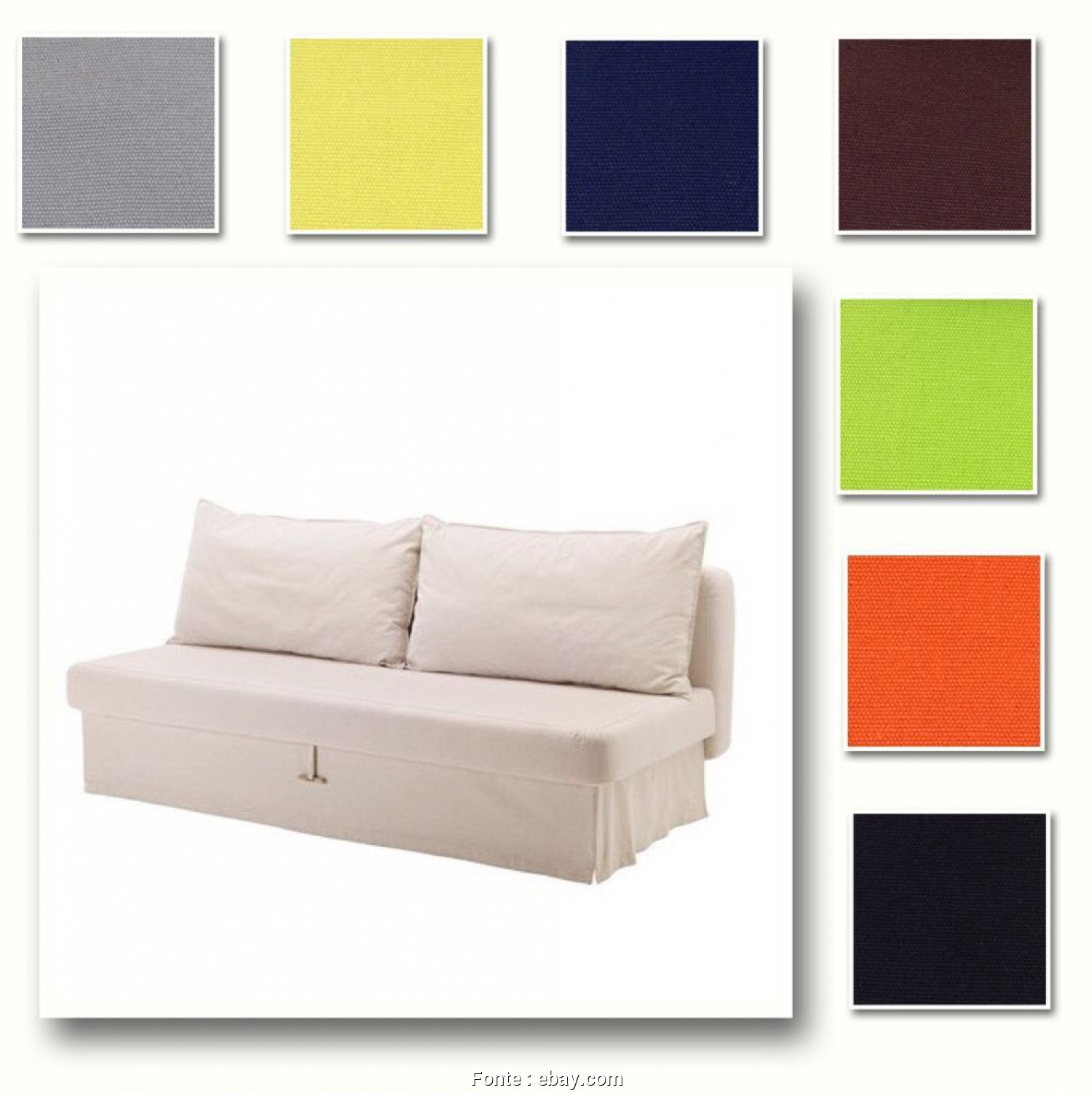 How To Disassemble An Ikea Futon, Favoloso Details About Custom Made Cover Fits IKEA HIMMENE Three-Seat Sofa Bed, Sleeper, Sofa, Cover