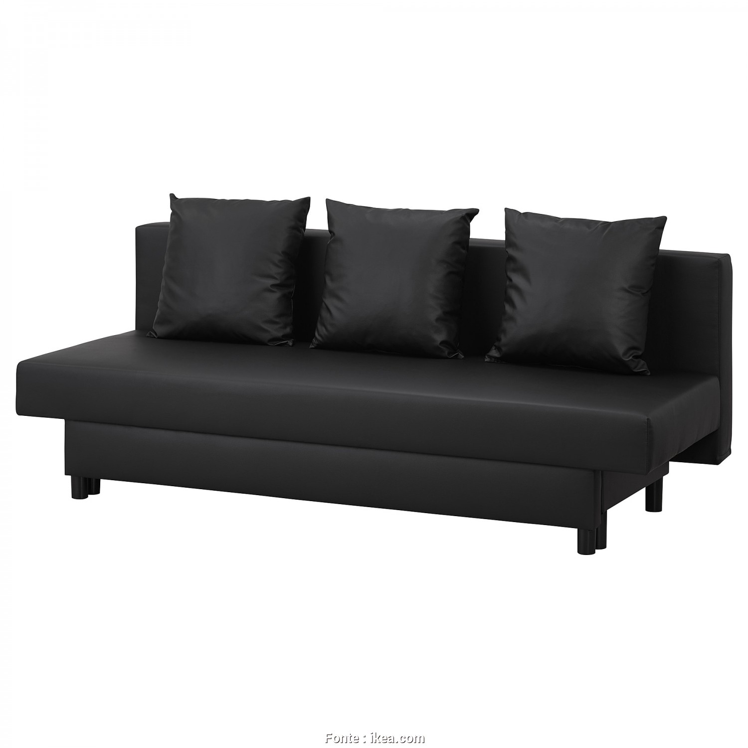 Ikea Asarum Assembly, Loveable IKEA ASARUM 3-Seat Sofa-Bed Readily Converts Into A Bed