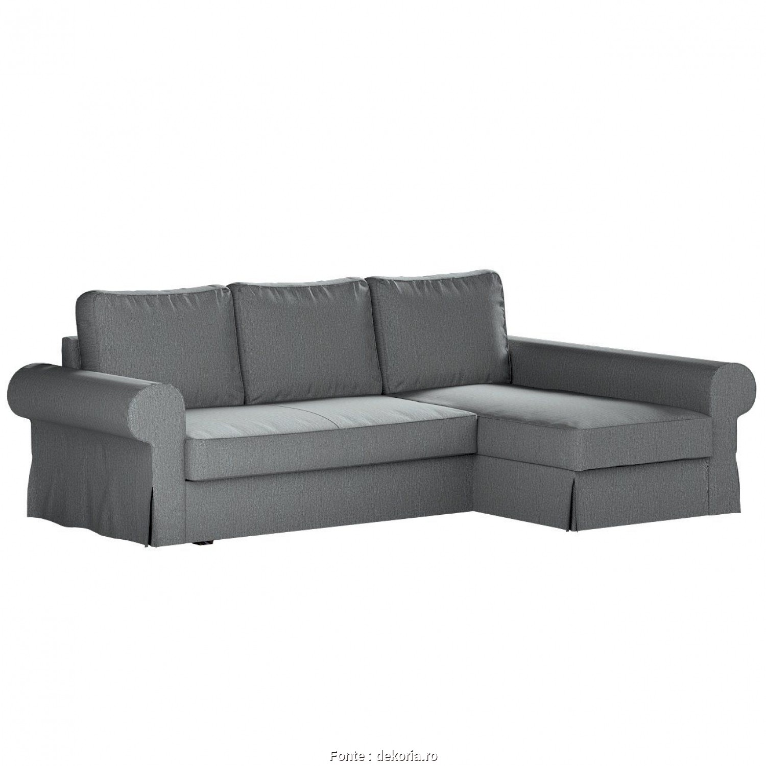Ikea Backabro Garantie, Bellissima Backabro Sofa, With Chaise Longue Cover In Collection Living, Fabric: 160-08