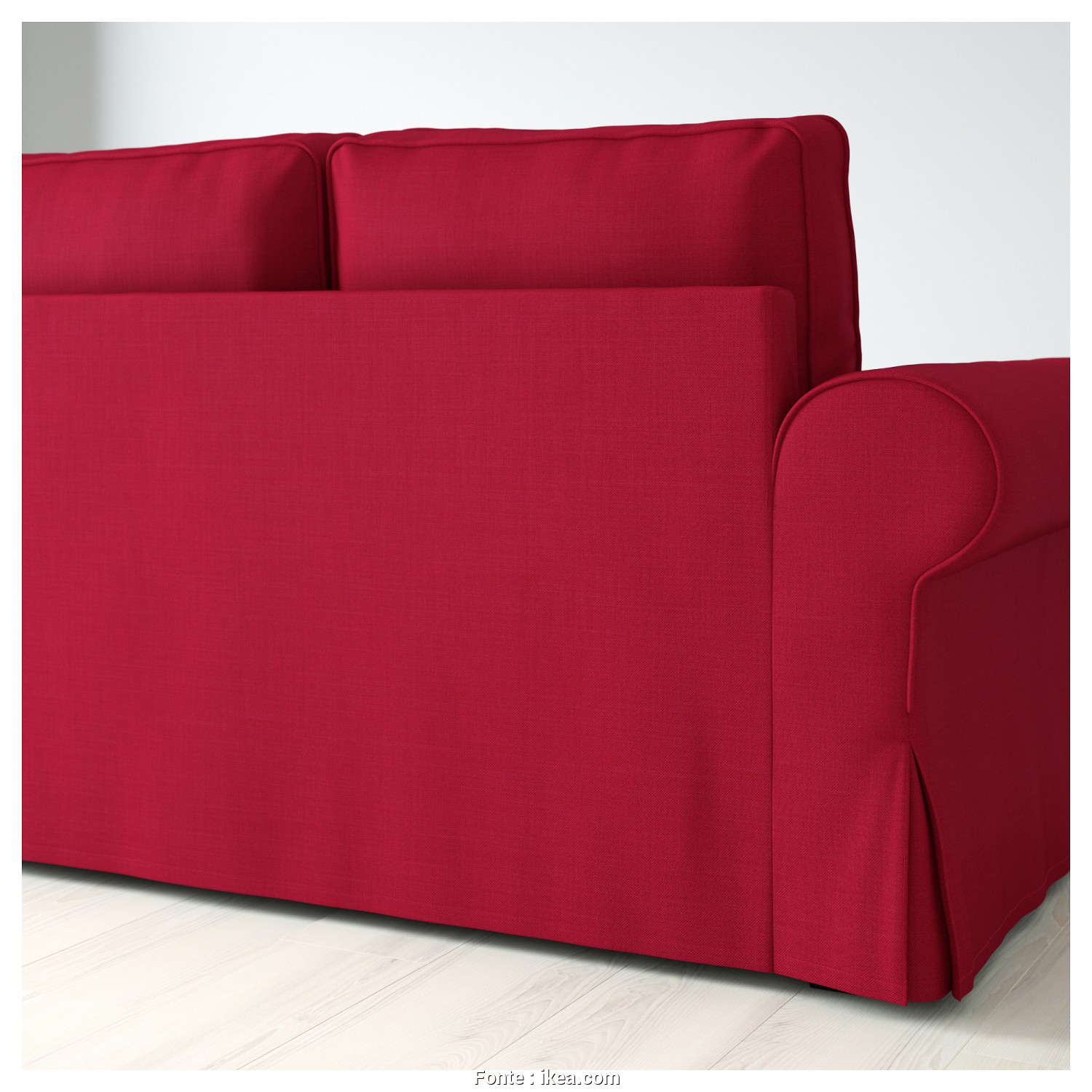 Ikea Backabro Kılıf, Elegante BACKABRO Sofa, With Chaise Longue Nordvalla Red