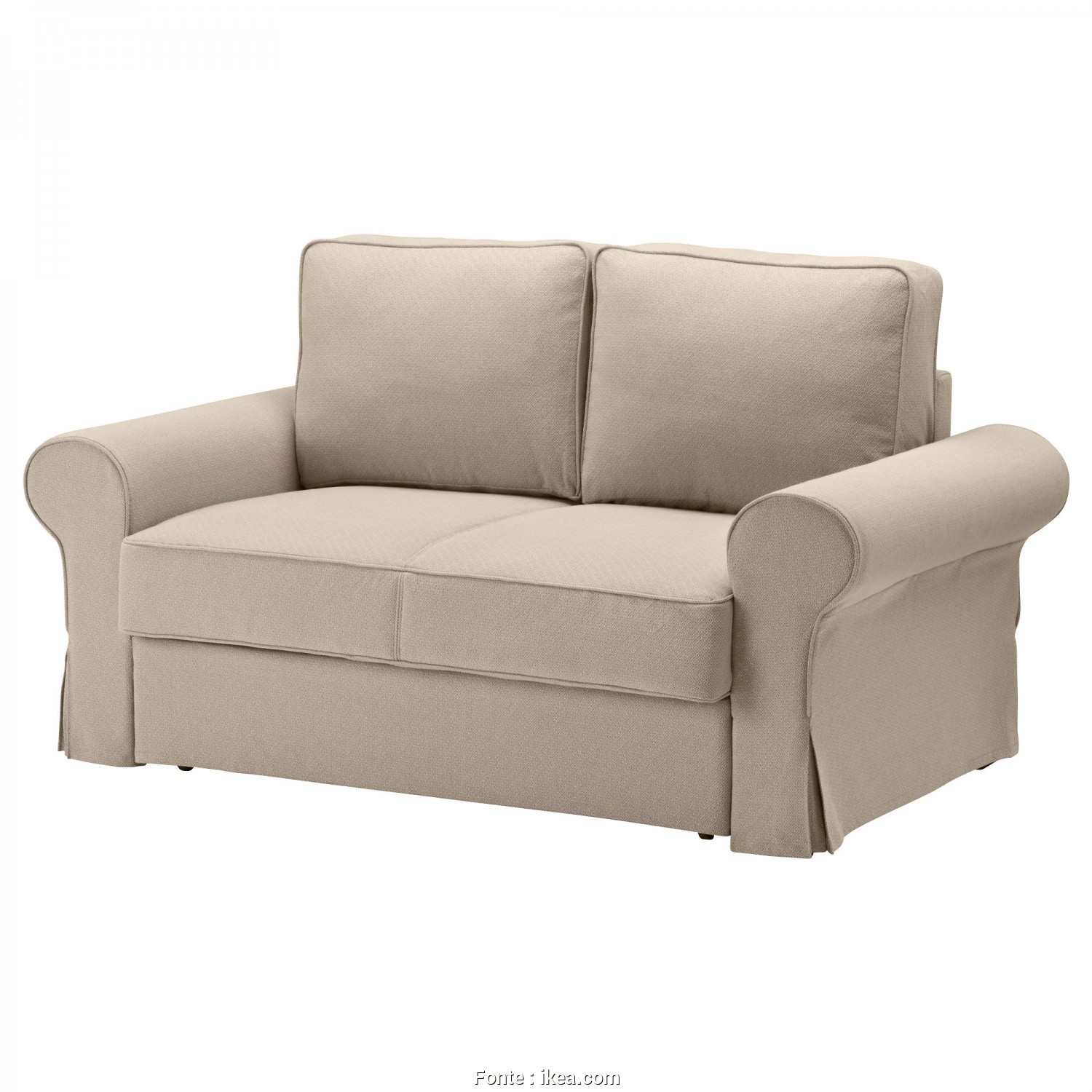 Ikea Backabro Kılıf, Bello BACKABRO Two-Seat Sofa-Bed Hylte Beige