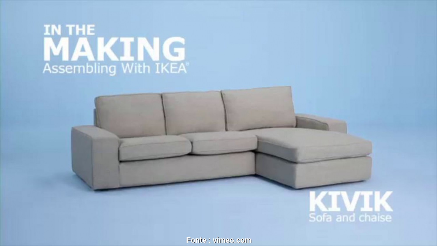 Ikea Backabro Zusammenbauen, Affascinante IKEA KIVIK Sofa Assembly