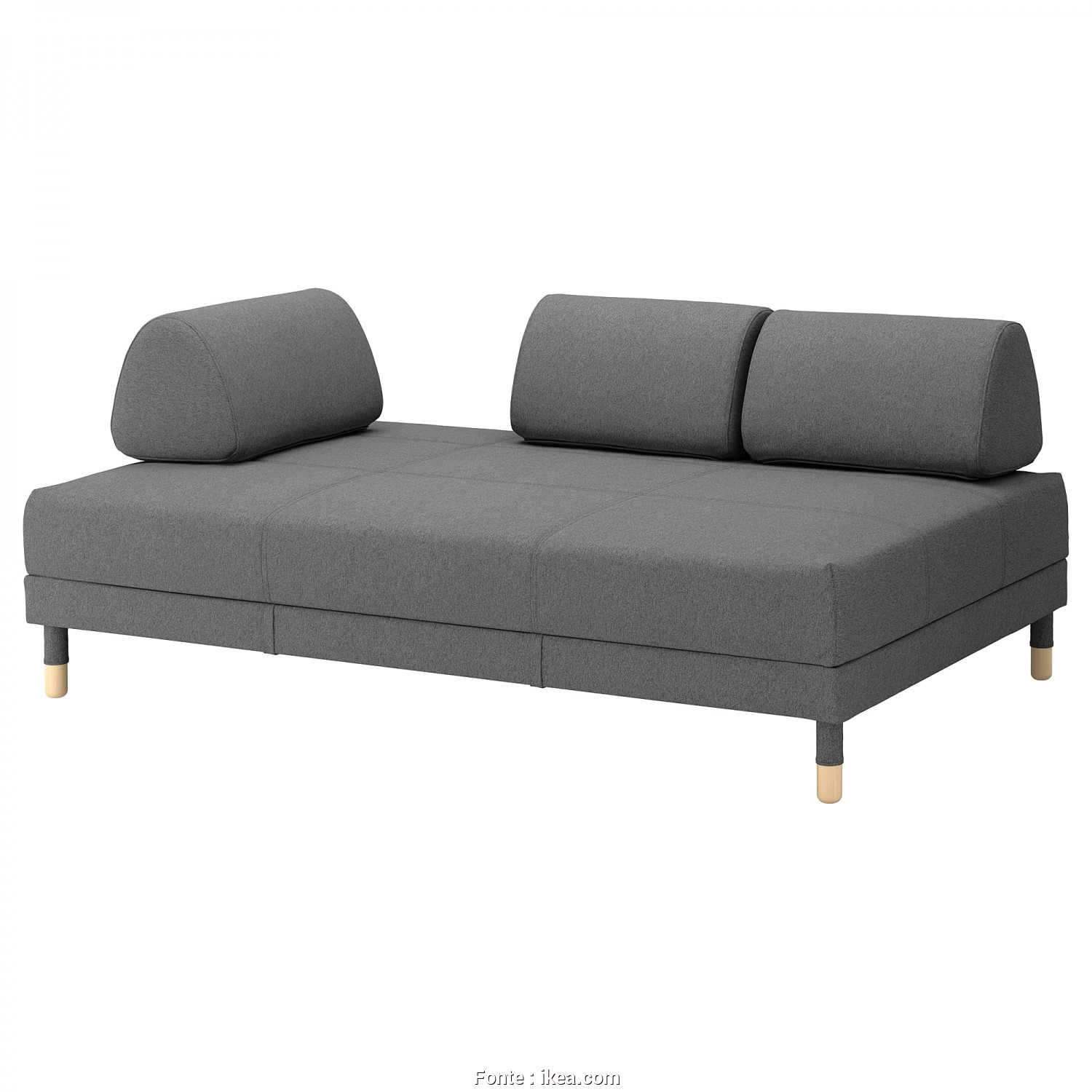 Ikea Beddinge Grey Cover, Grande IKEA FLOTTEBO Sofa-Bed, Cover Is Easy To Keep Clean Since It Is Removable
